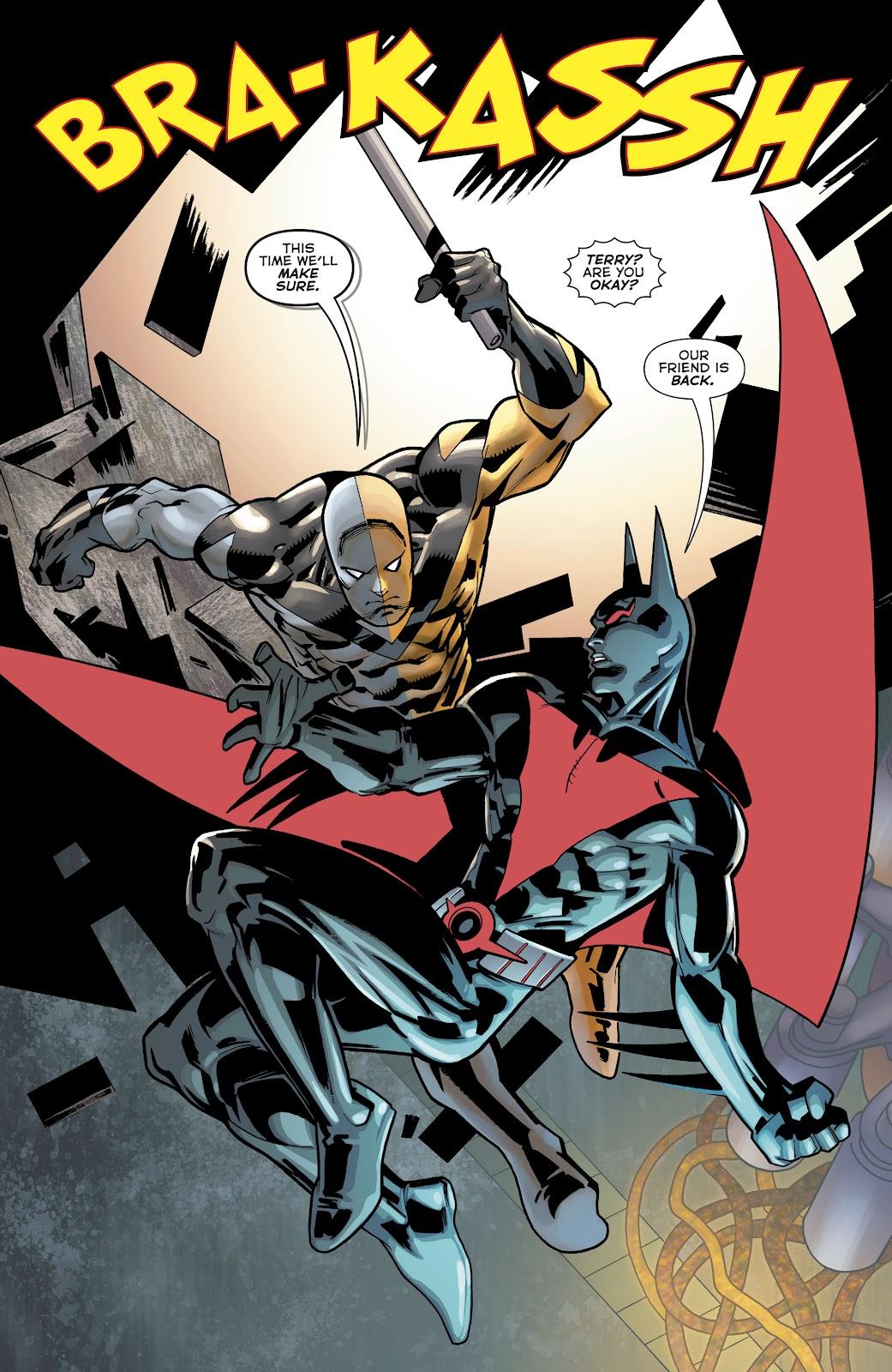 Read online Batman Beyond (2016) comic -  Issue #32 - 16