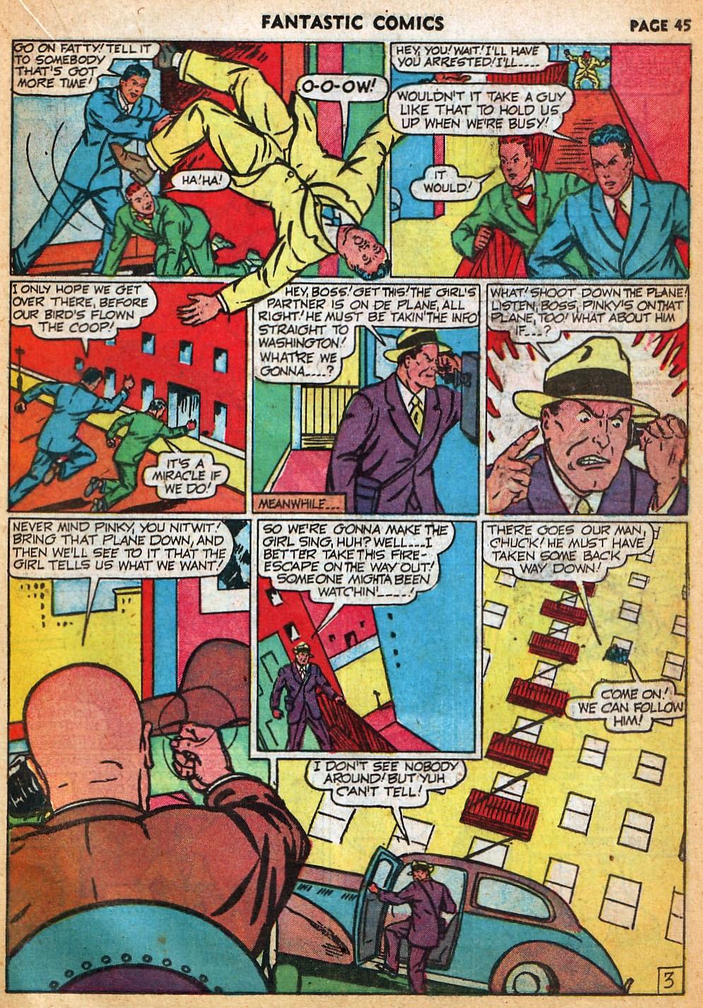 Read online Fantastic Comics comic -  Issue #22 - 46