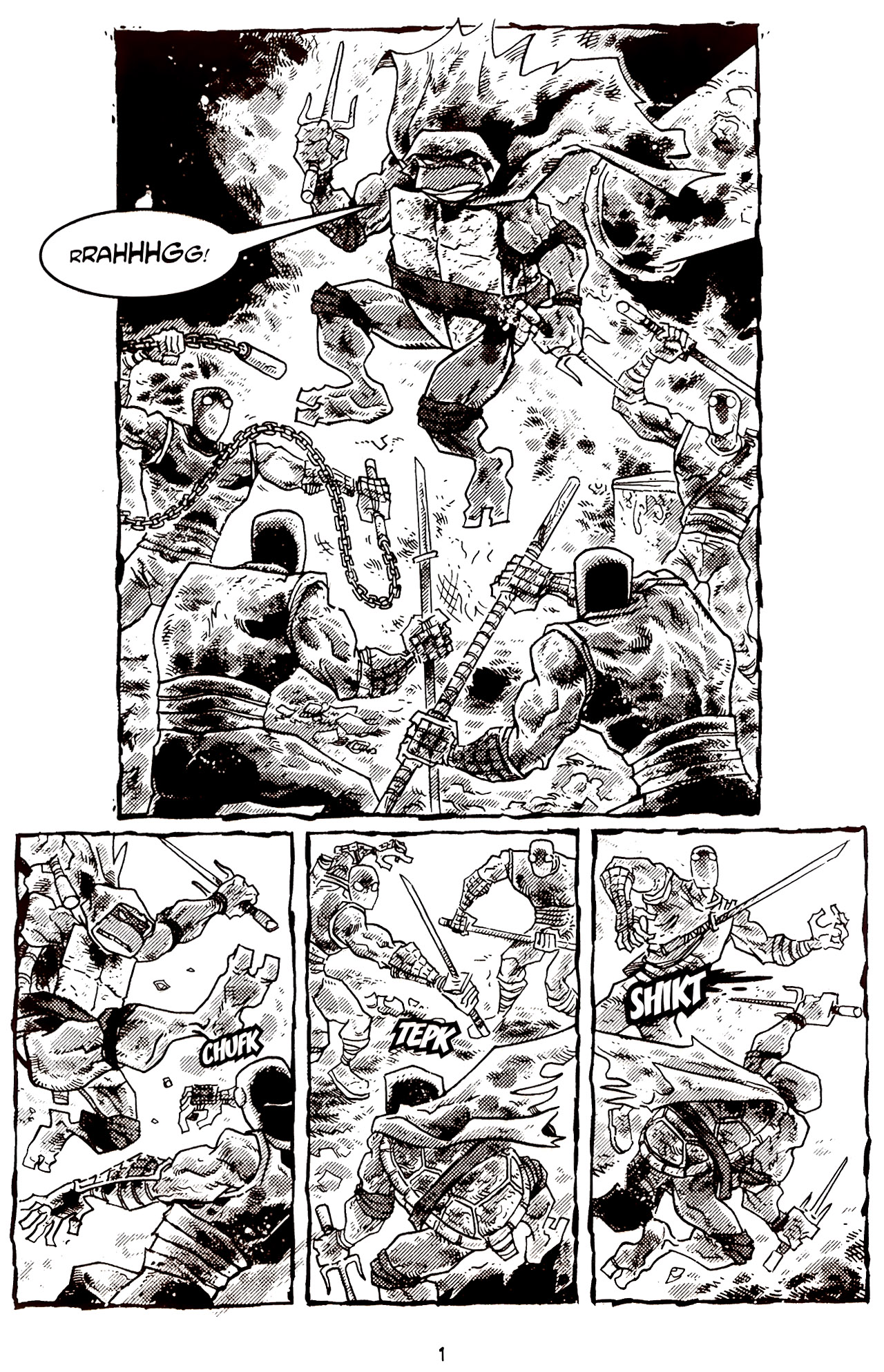 Read online Tales of the TMNT comic -  Issue #70 - 6