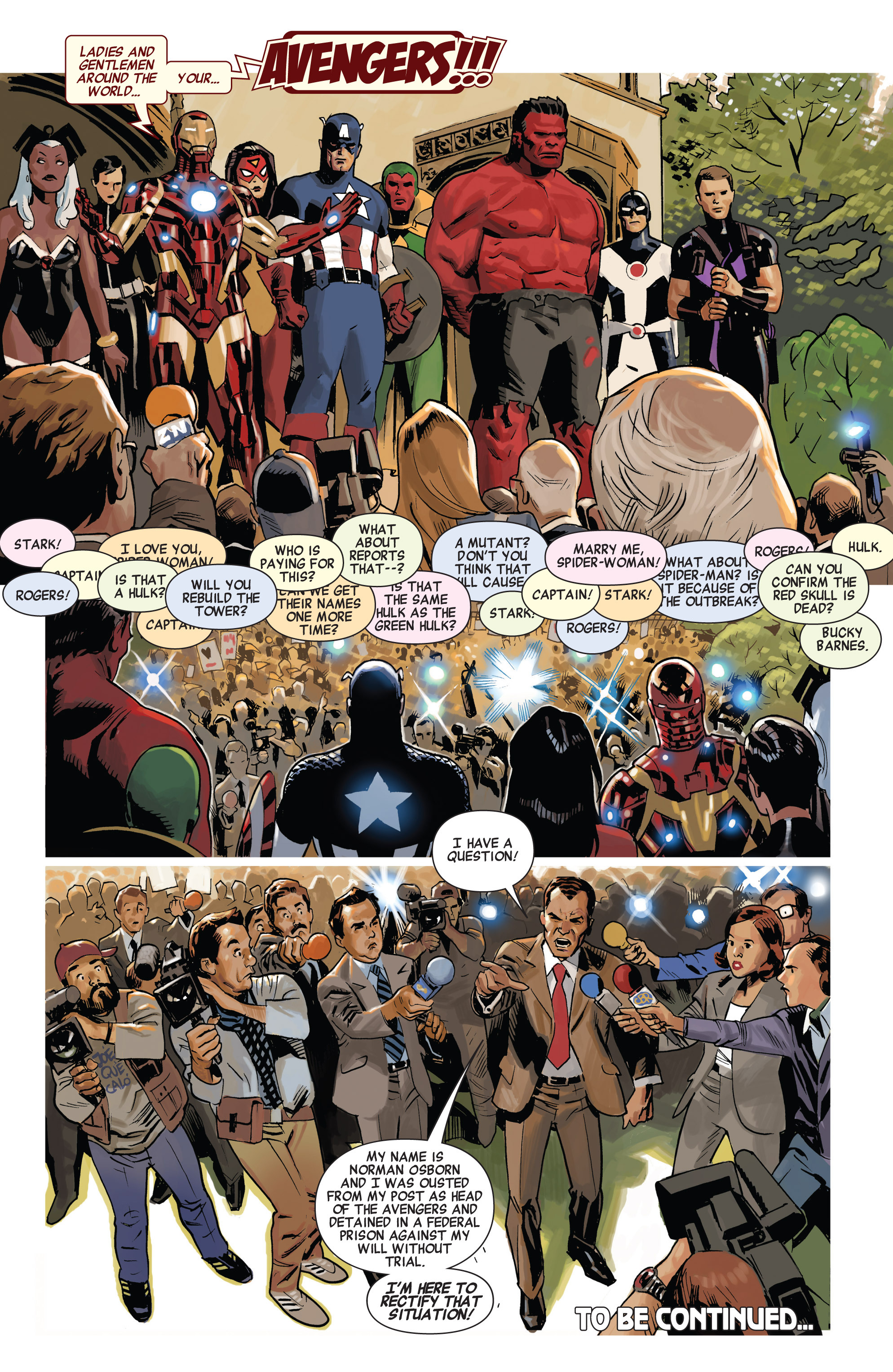 Read online Avengers (2010) comic -  Issue #19 - 20
