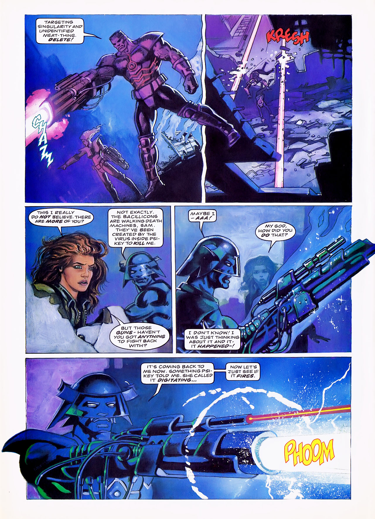 Read online Overkill comic -  Issue #7 - 26