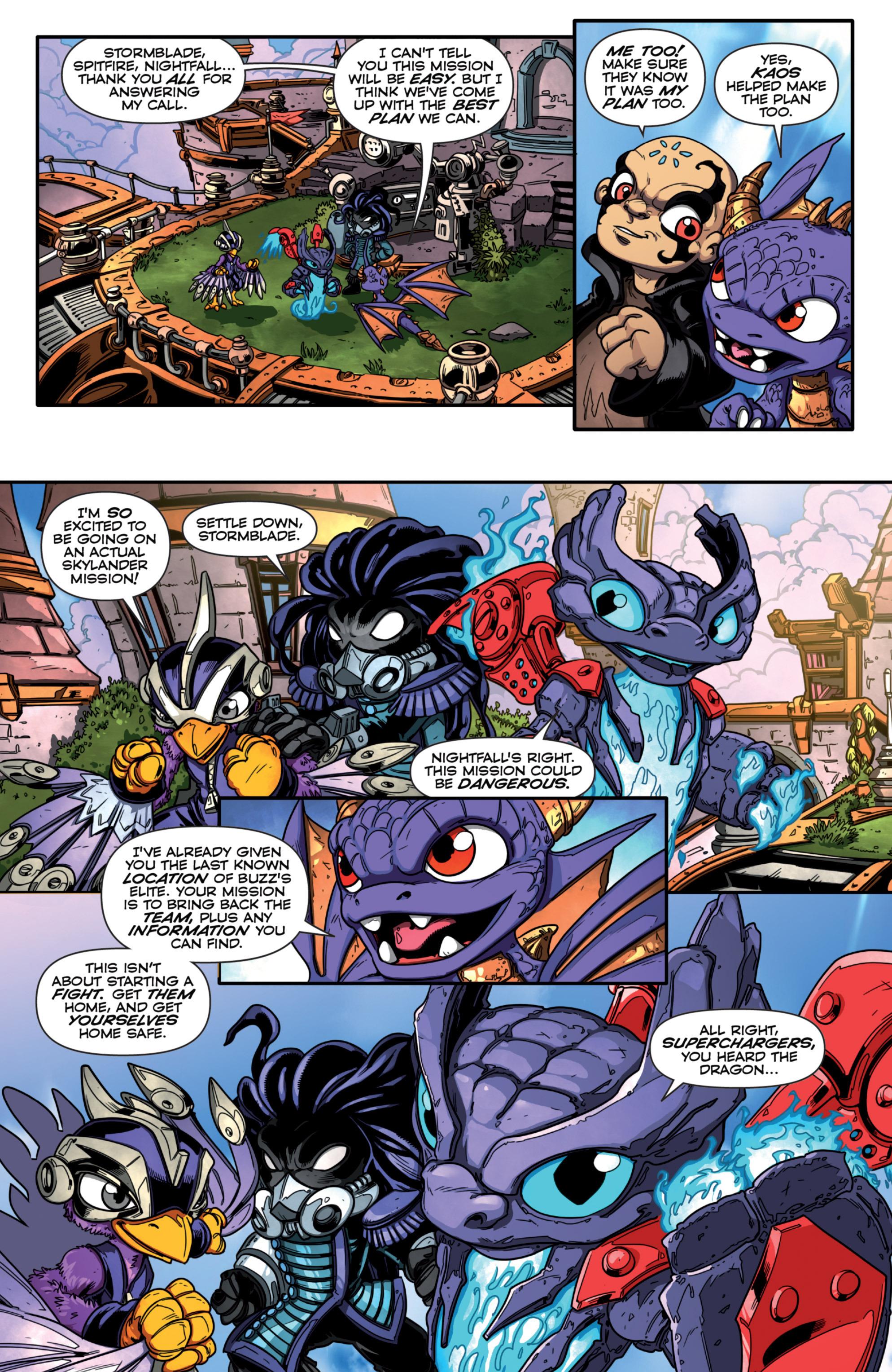 Read online Skylanders Superchargers comic -  Issue #1 - 9