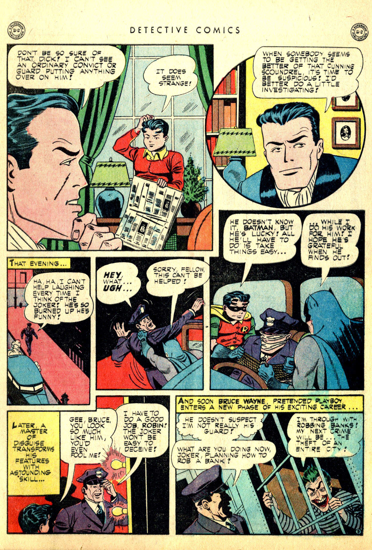 Read online Detective Comics (1937) comic -  Issue #91 - 5