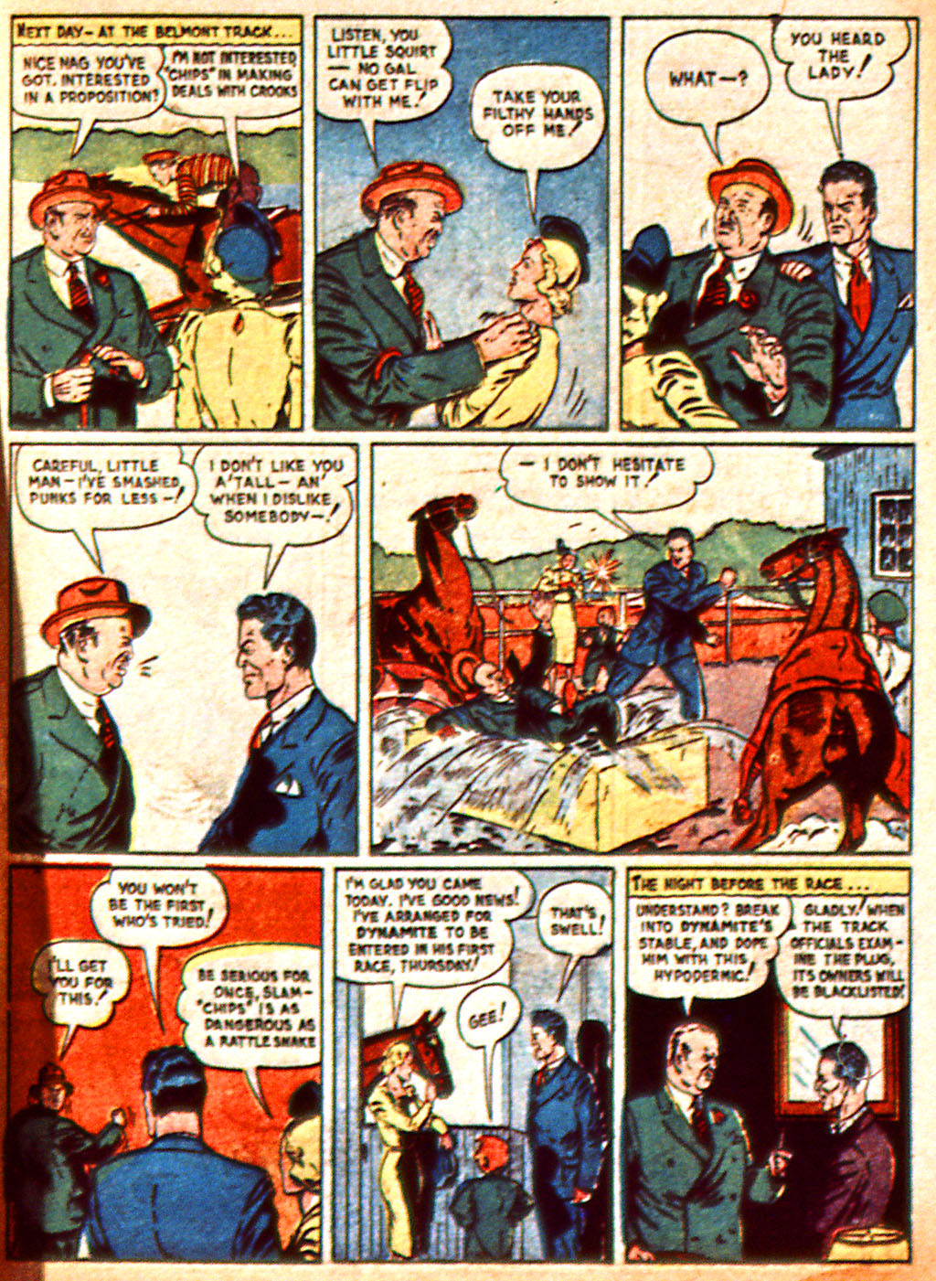 Read online Detective Comics (1937) comic -  Issue #37 - 62