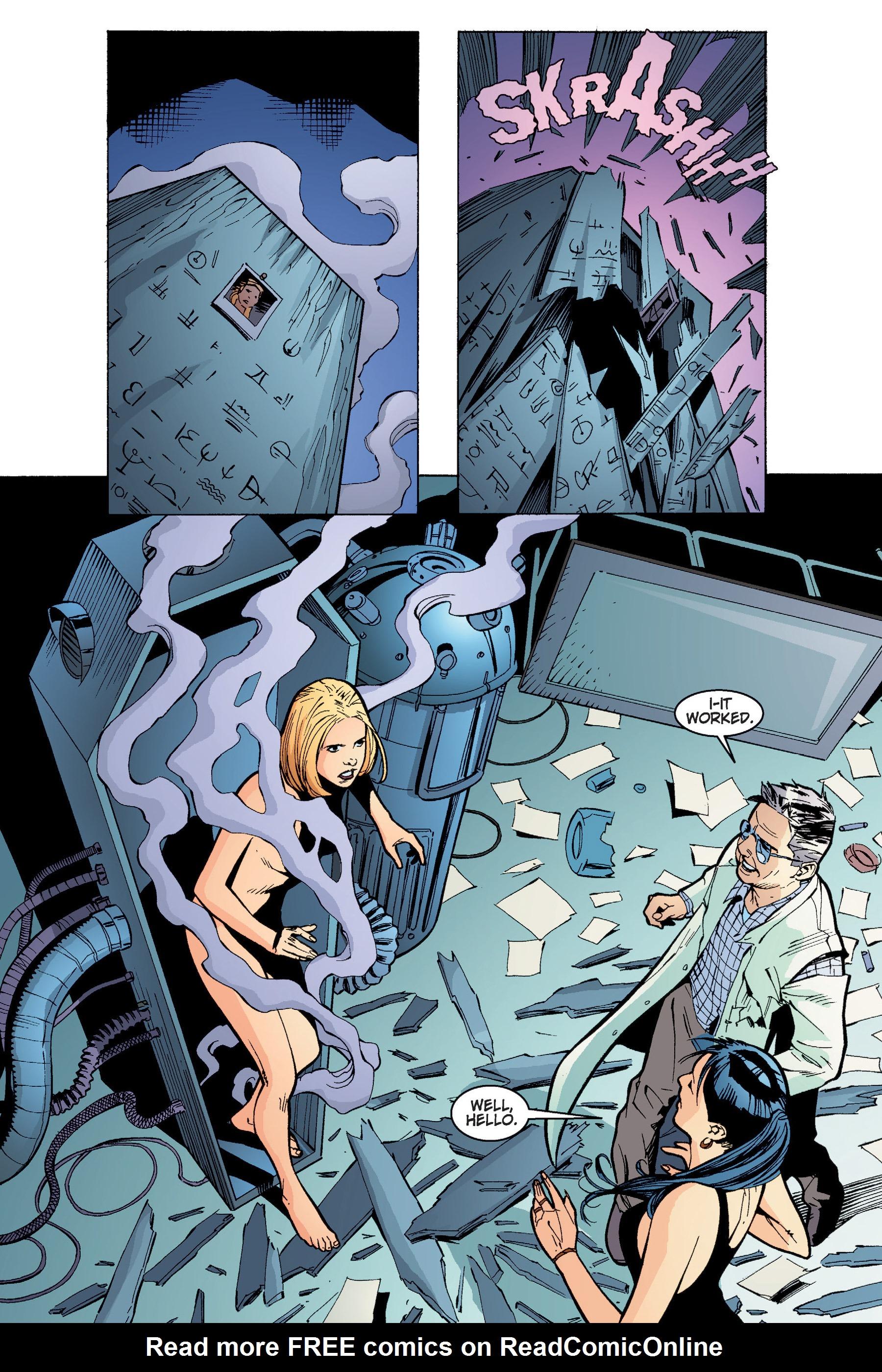 Read online Buffy the Vampire Slayer: Omnibus comic -  Issue # TPB 4 - 140