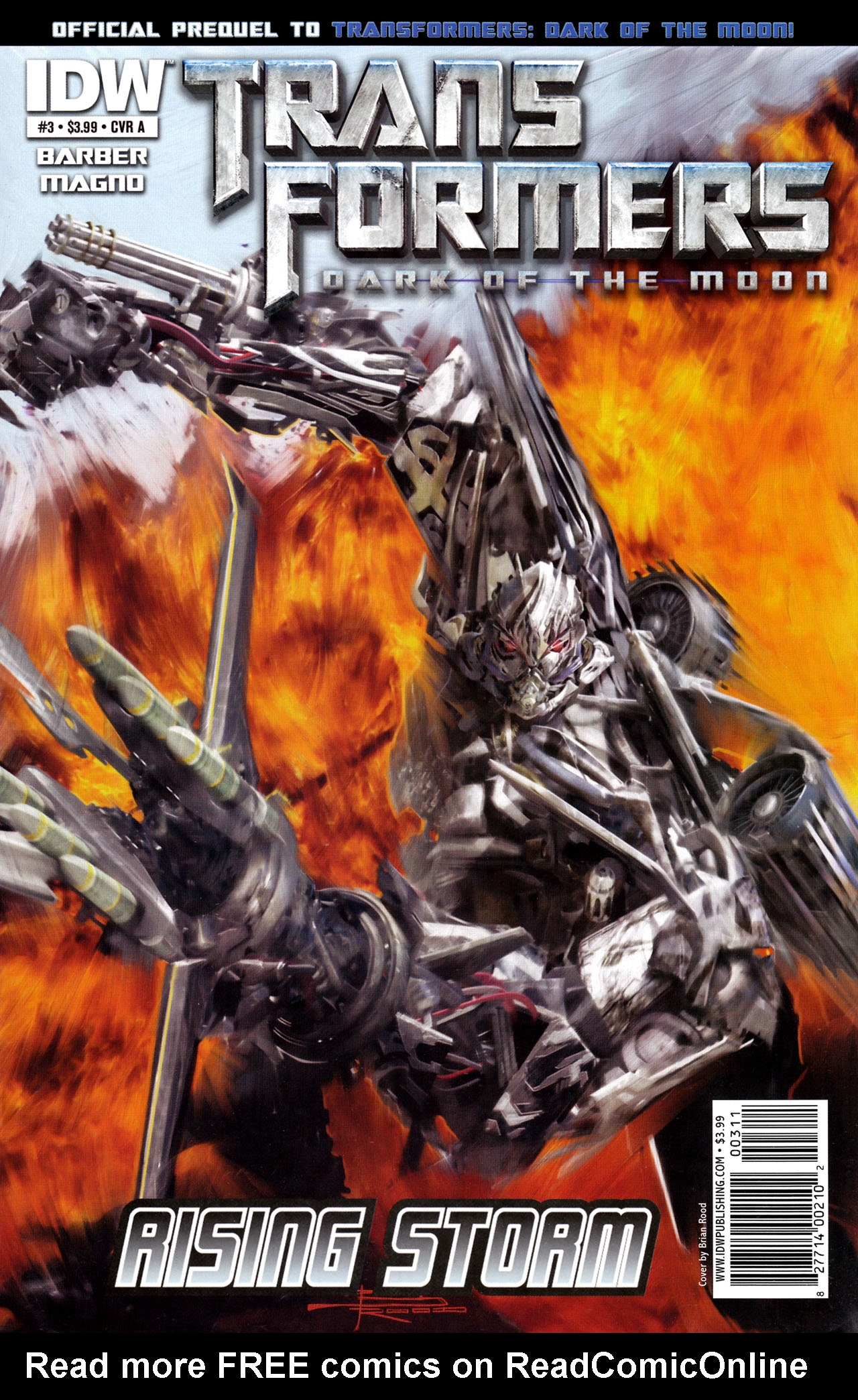 Transformers: Dark of the Moon Rising Storm 3 Page 1