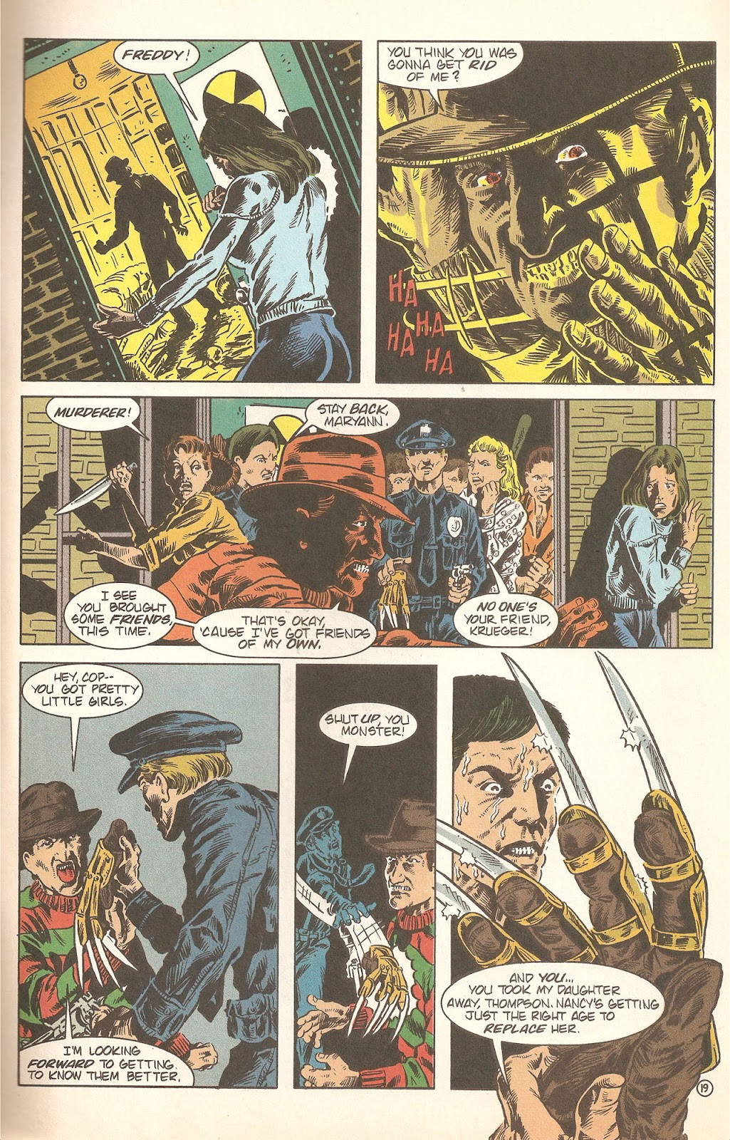 Read online A Nightmare on Elm Street: The Beginning comic -  Issue #2 - 21