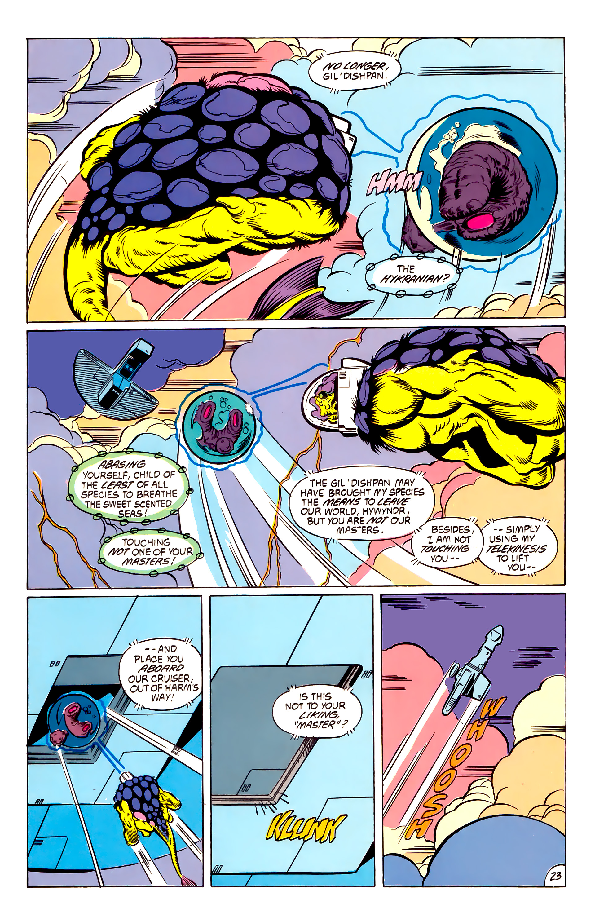Legion of Super-Heroes (1984) 53 Page 23