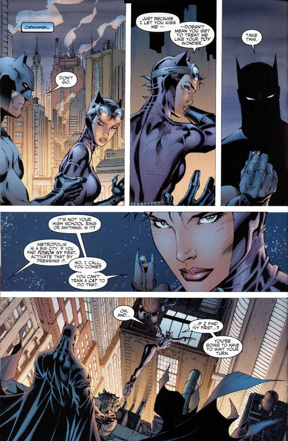 Read online Batman: Hush comic -  Issue #4 - 9