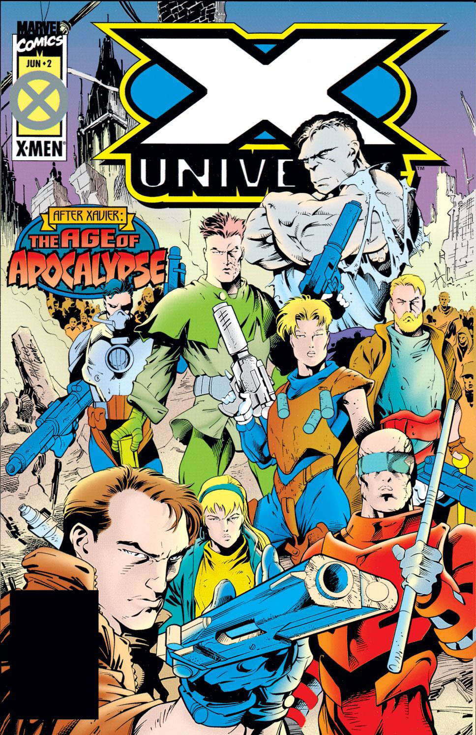 Read online X-Universe comic -  Issue #2 - 1