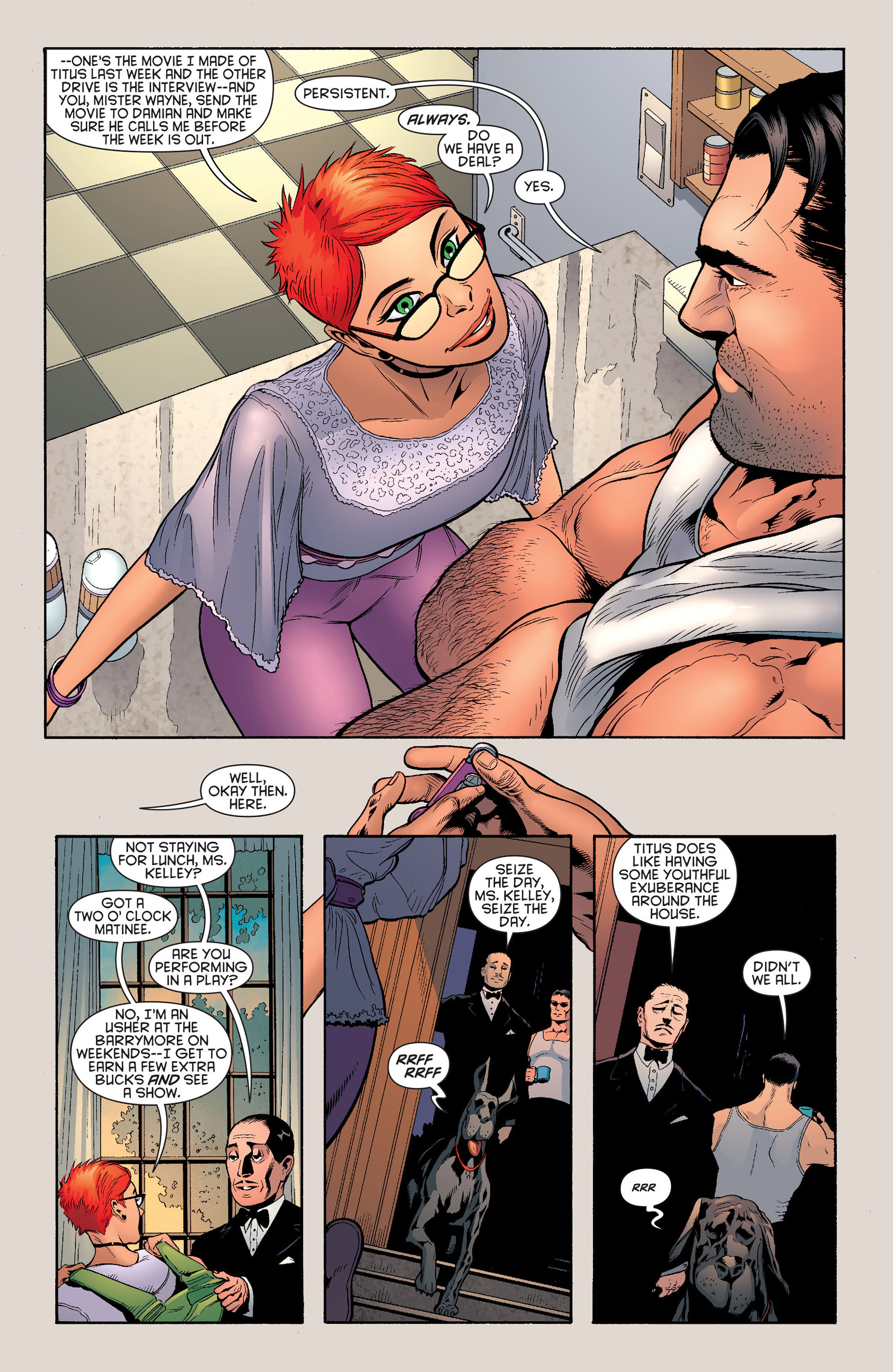 Read online Batman and Robin (2011) comic -  Issue #22 - Batman and Catwoman - 7