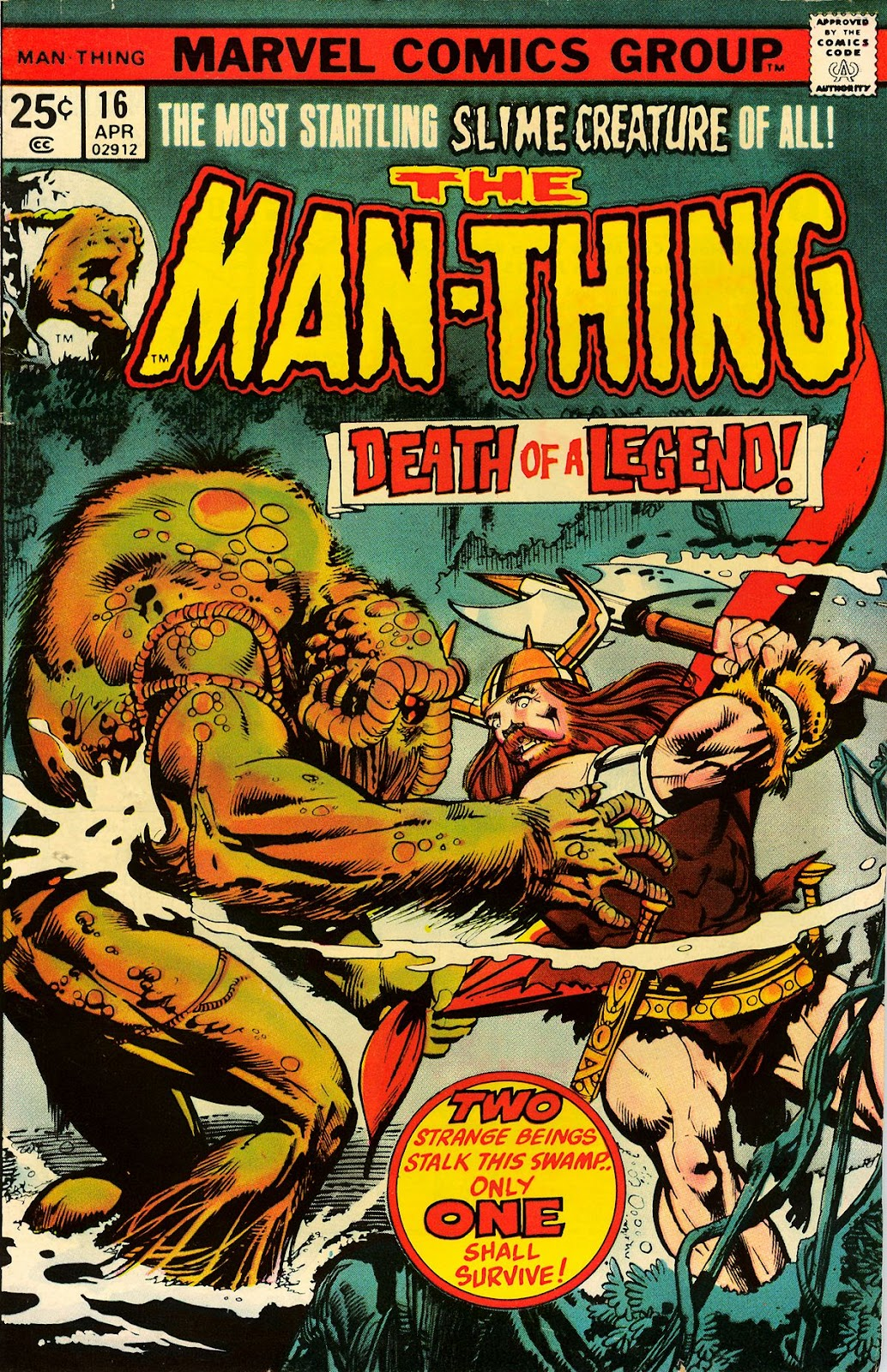Man-Thing (1974) issue 16 - Page 1