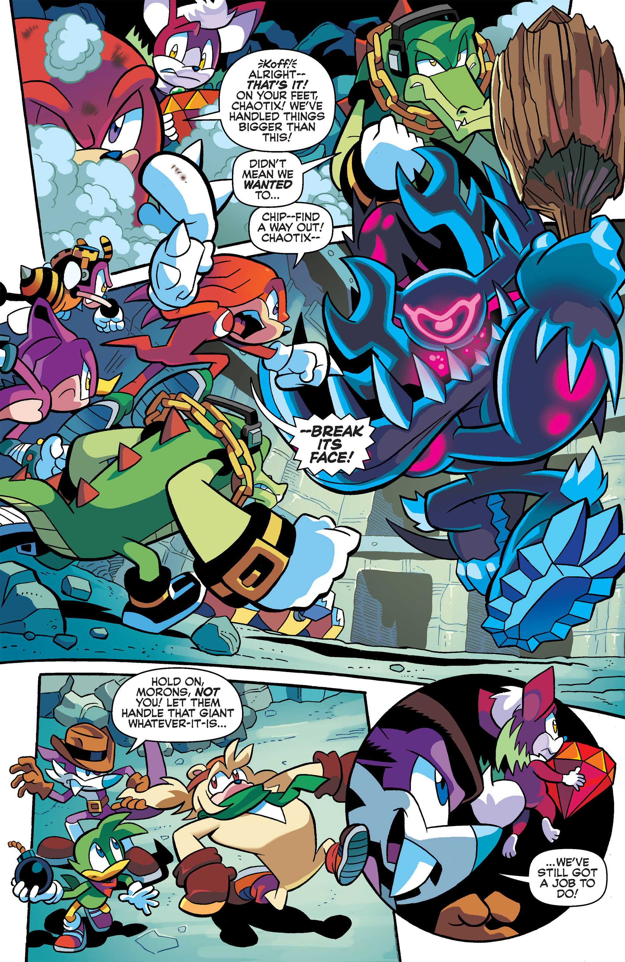 Read online Sonic Universe comic -  Issue #65 - 17