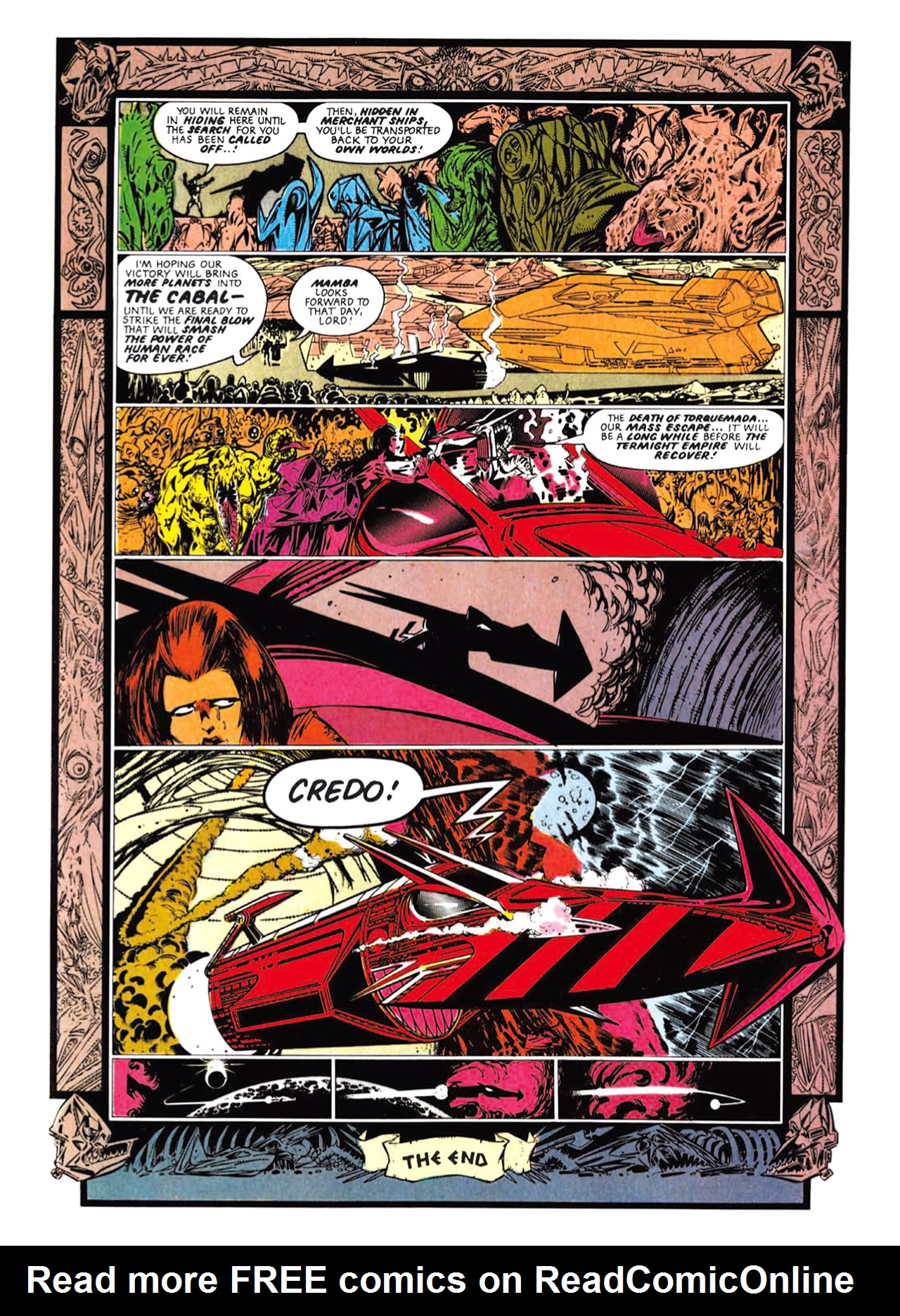 Read online Nemesis The Warlock comic -  Issue # TPB Deviant Edition - 94