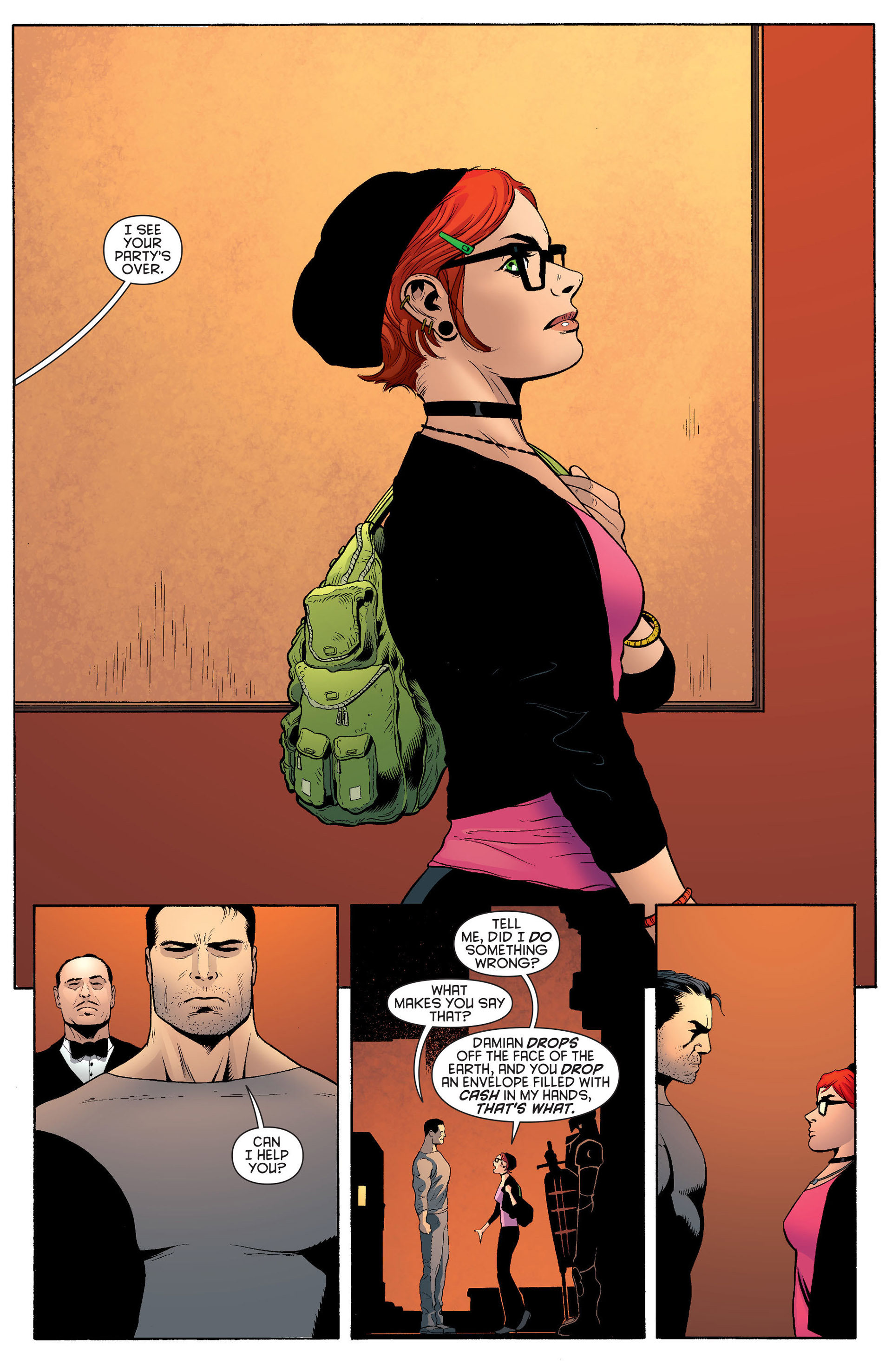 Read online Batman and Robin (2011) comic -  Issue #20 - 4