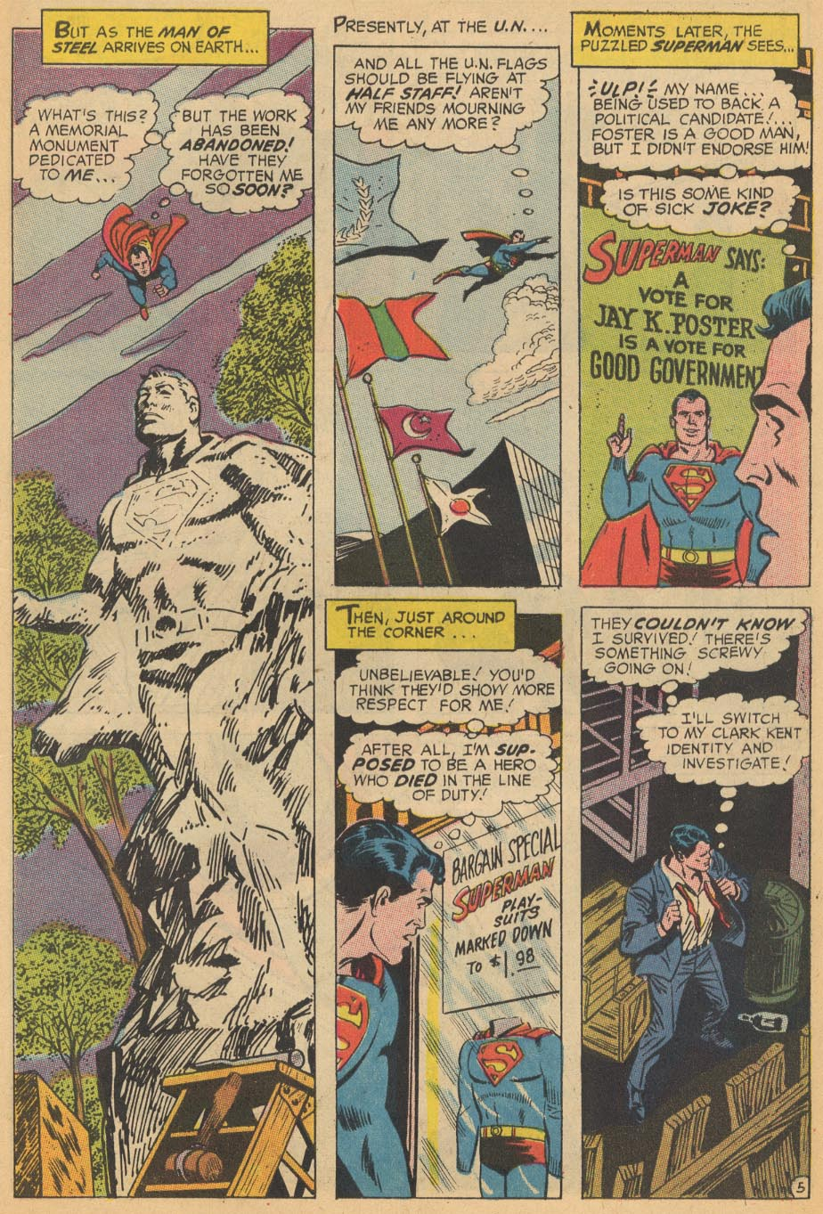 Read online Action Comics (1938) comic -  Issue #366 - 7