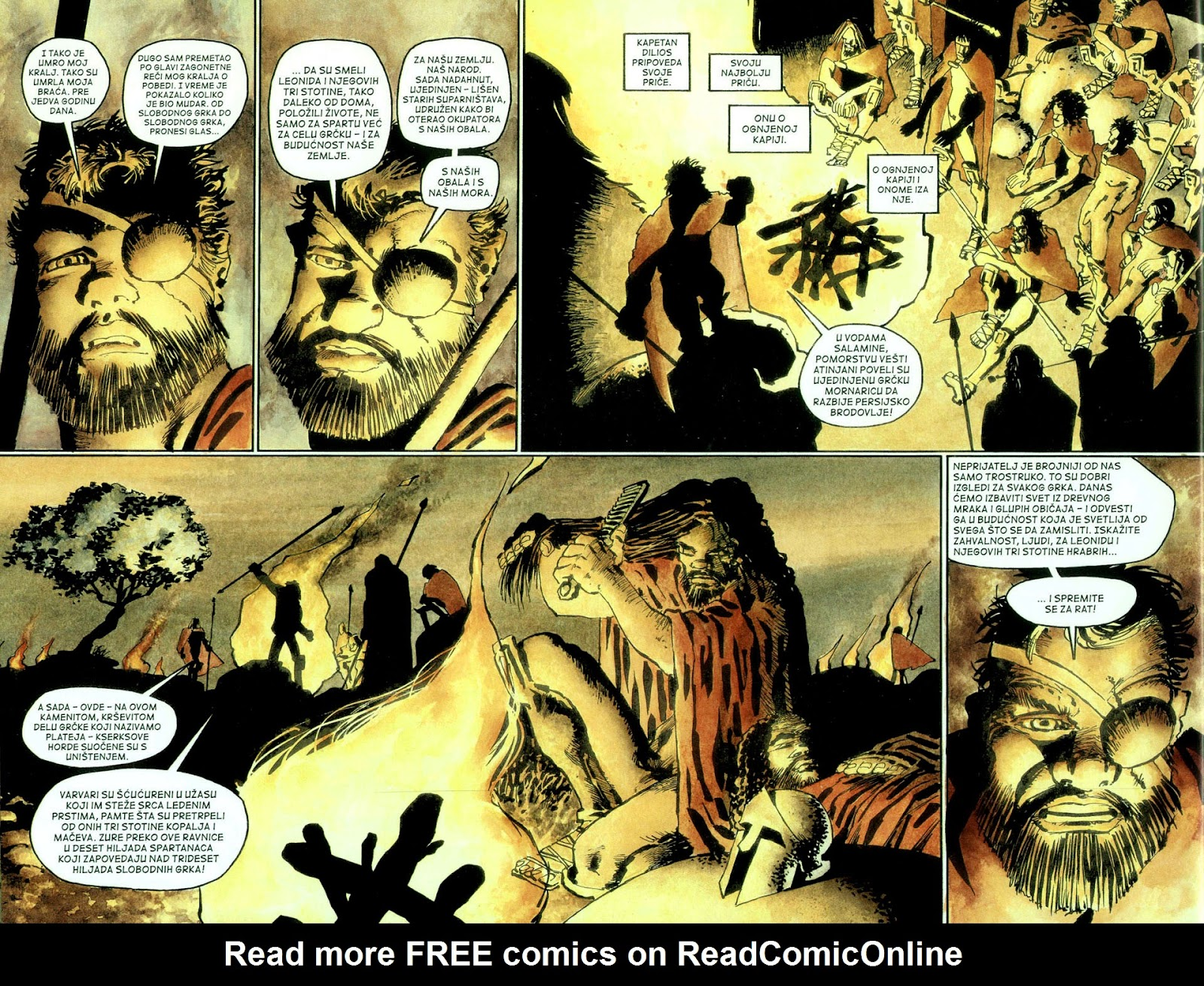 Read online 300 (2007) comic -  Issue # TPB - 85