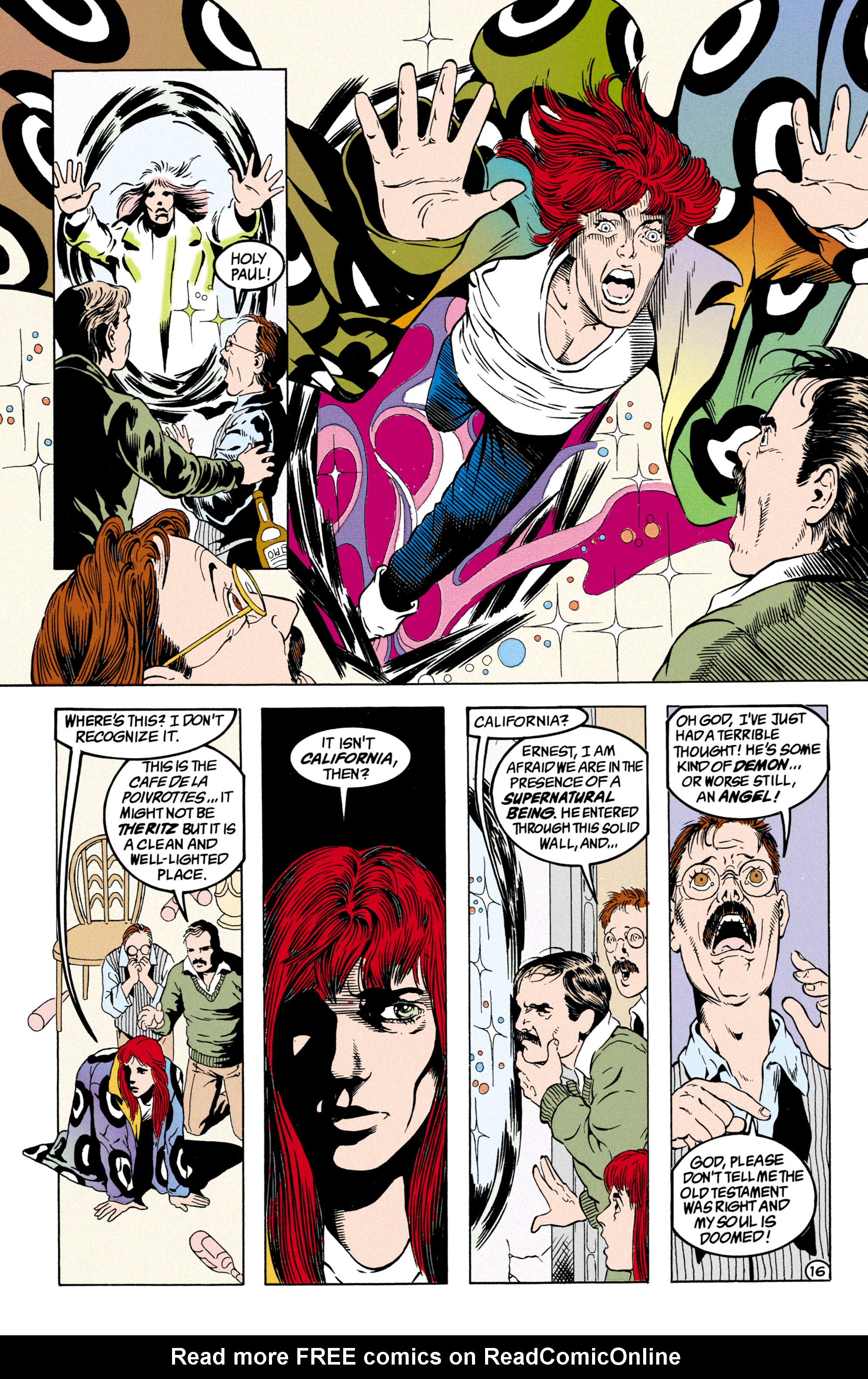 Read online Shade, the Changing Man comic -  Issue #31 - 17