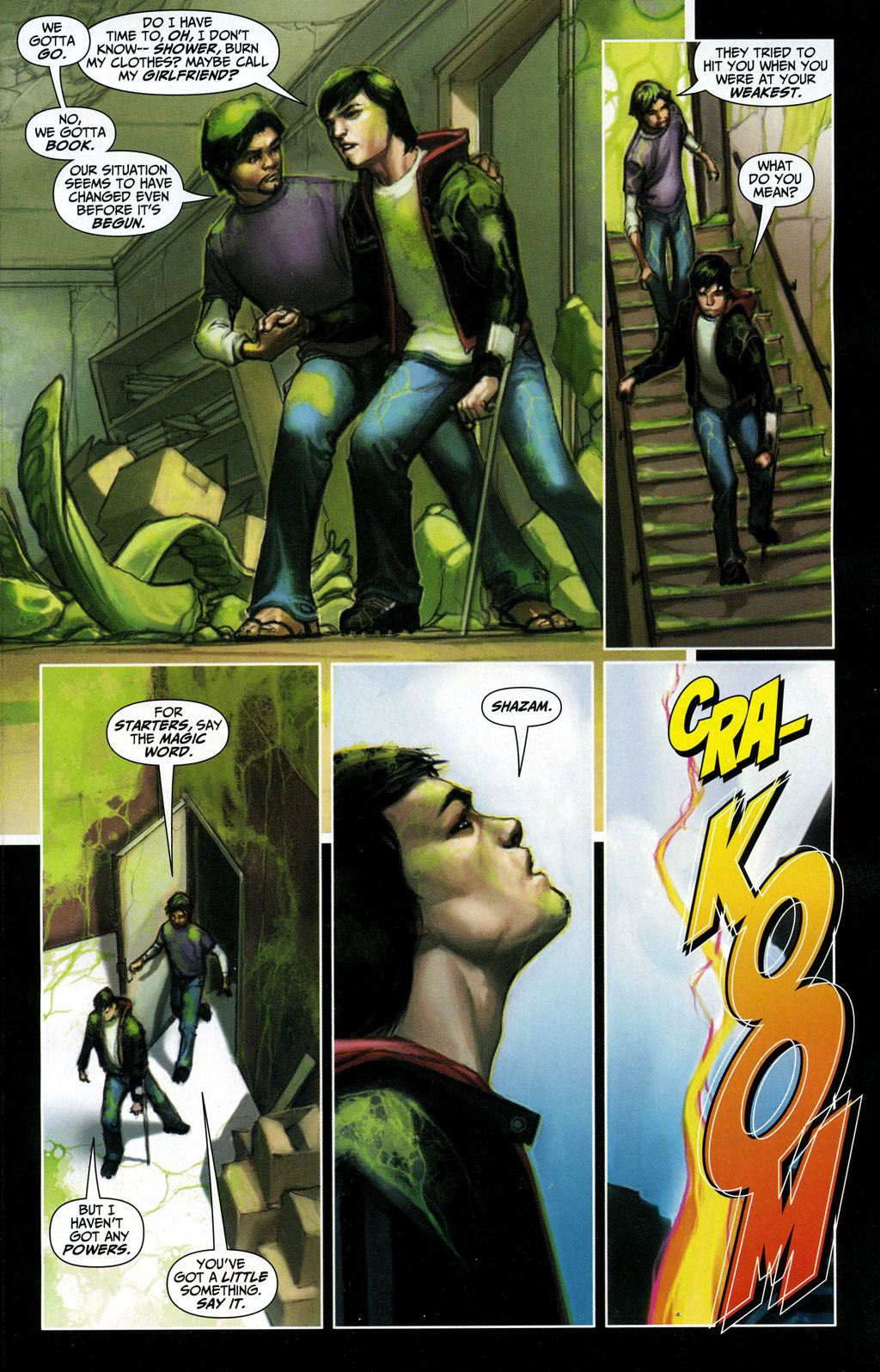 Read online Trials of Shazam comic -  Issue #3 - 8