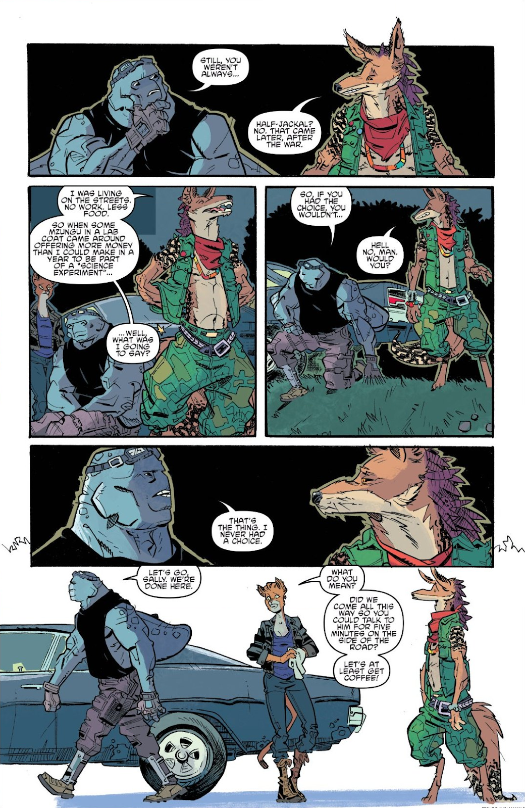 Read online Teenage Mutant Ninja Turtles: The IDW Collection comic -  Issue # TPB 9 (Part 3) - 29