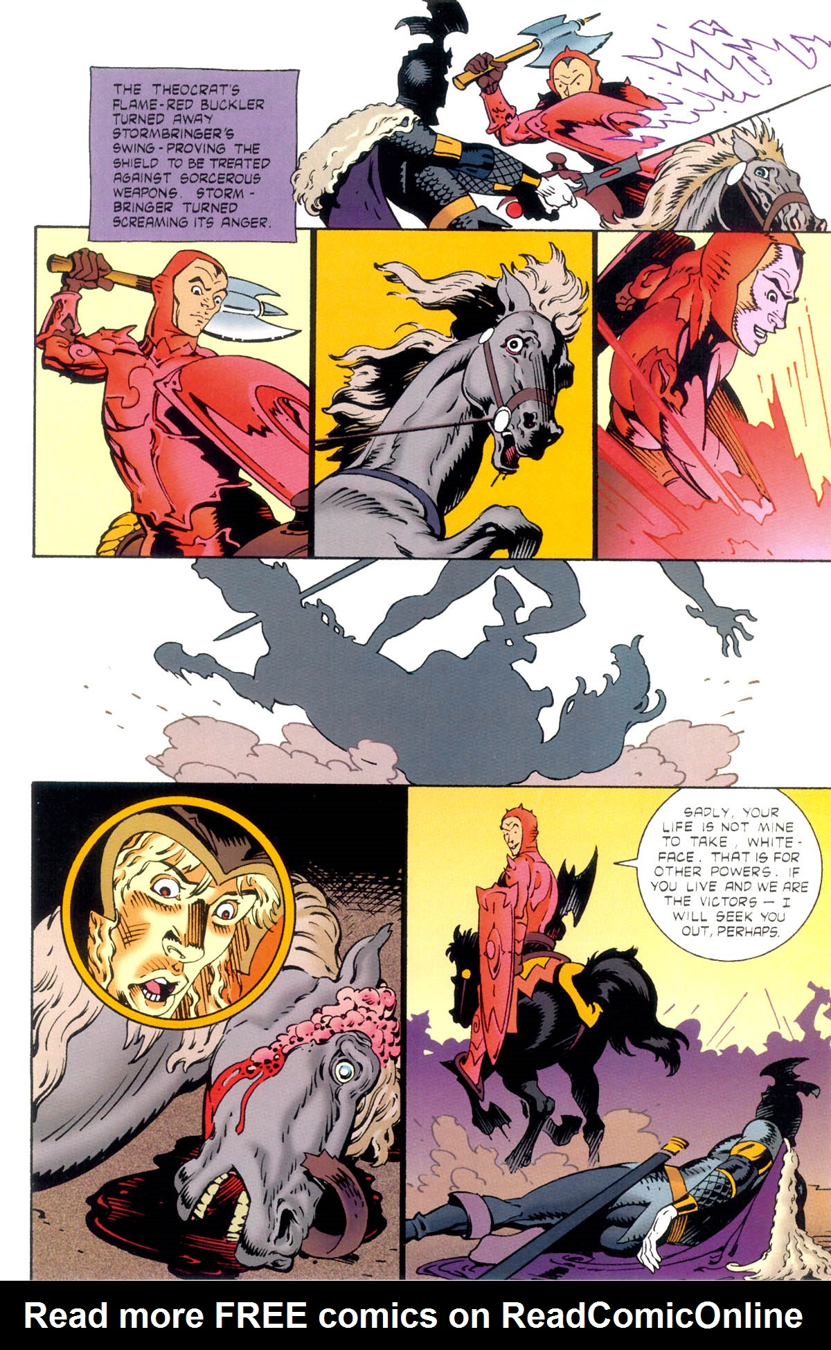 Read online Elric: Stormbringer comic -  Issue #1 - 25