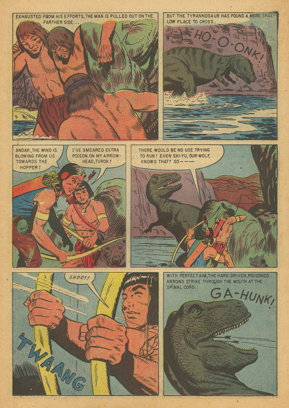 Read online Turok, Son of Stone comic -  Issue #7 - 23