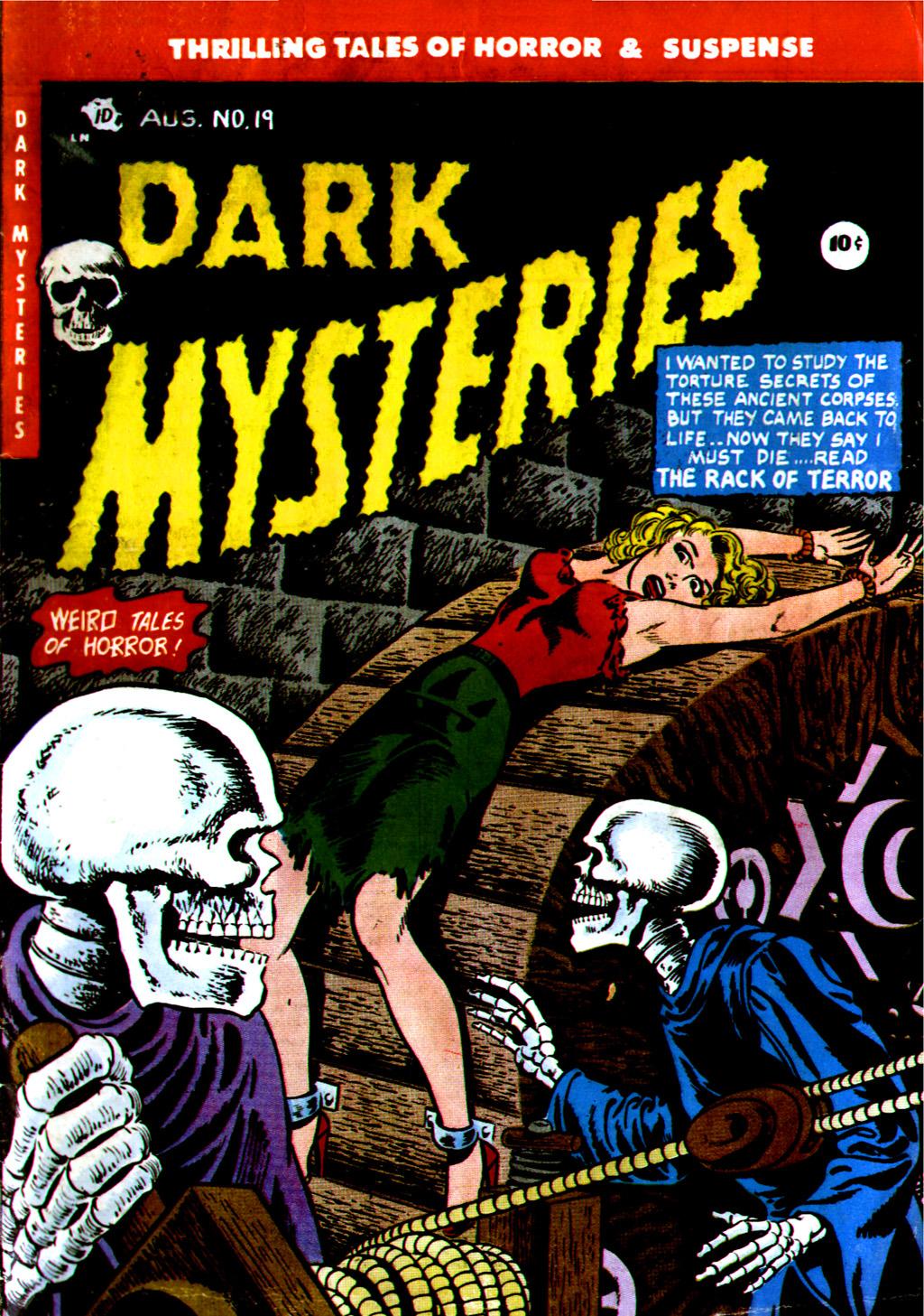 Dark Mysteries 19 Page 1