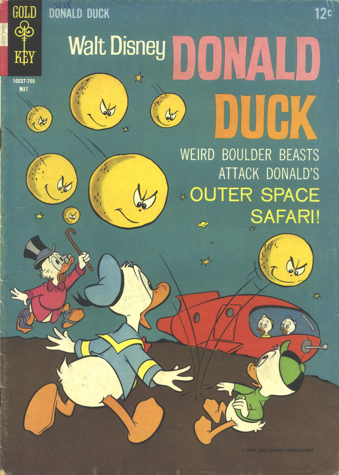 Walt Disney's Donald Duck (1952) issue 113 - Page 1