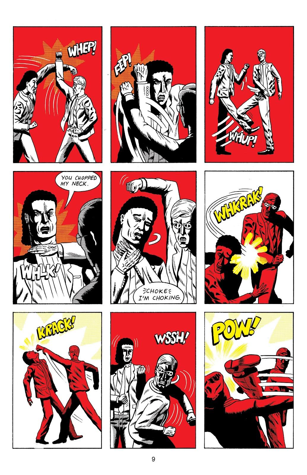 Read online Terror Assaulter: O.M.W.O.T (One Man War On Terror) comic -  Issue # TPB - 10