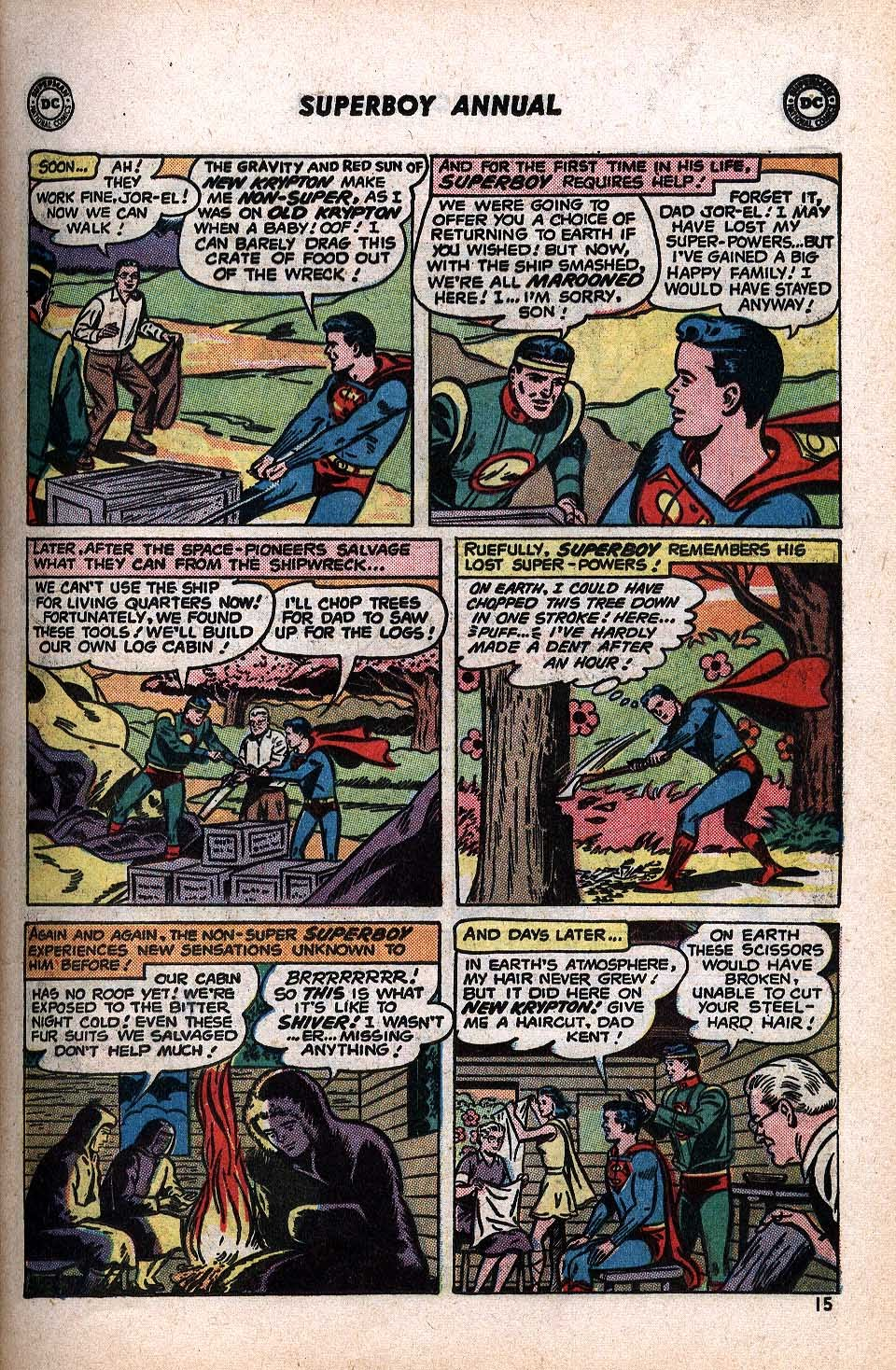 Superboy (1949) issue Annual 1 - Page 17