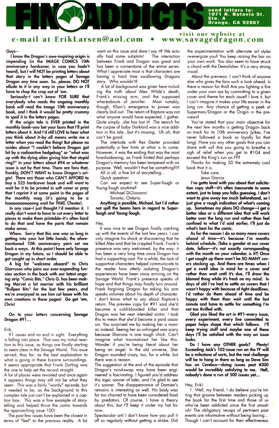 The Savage Dragon (1993) Issue #93 #96 - English 23