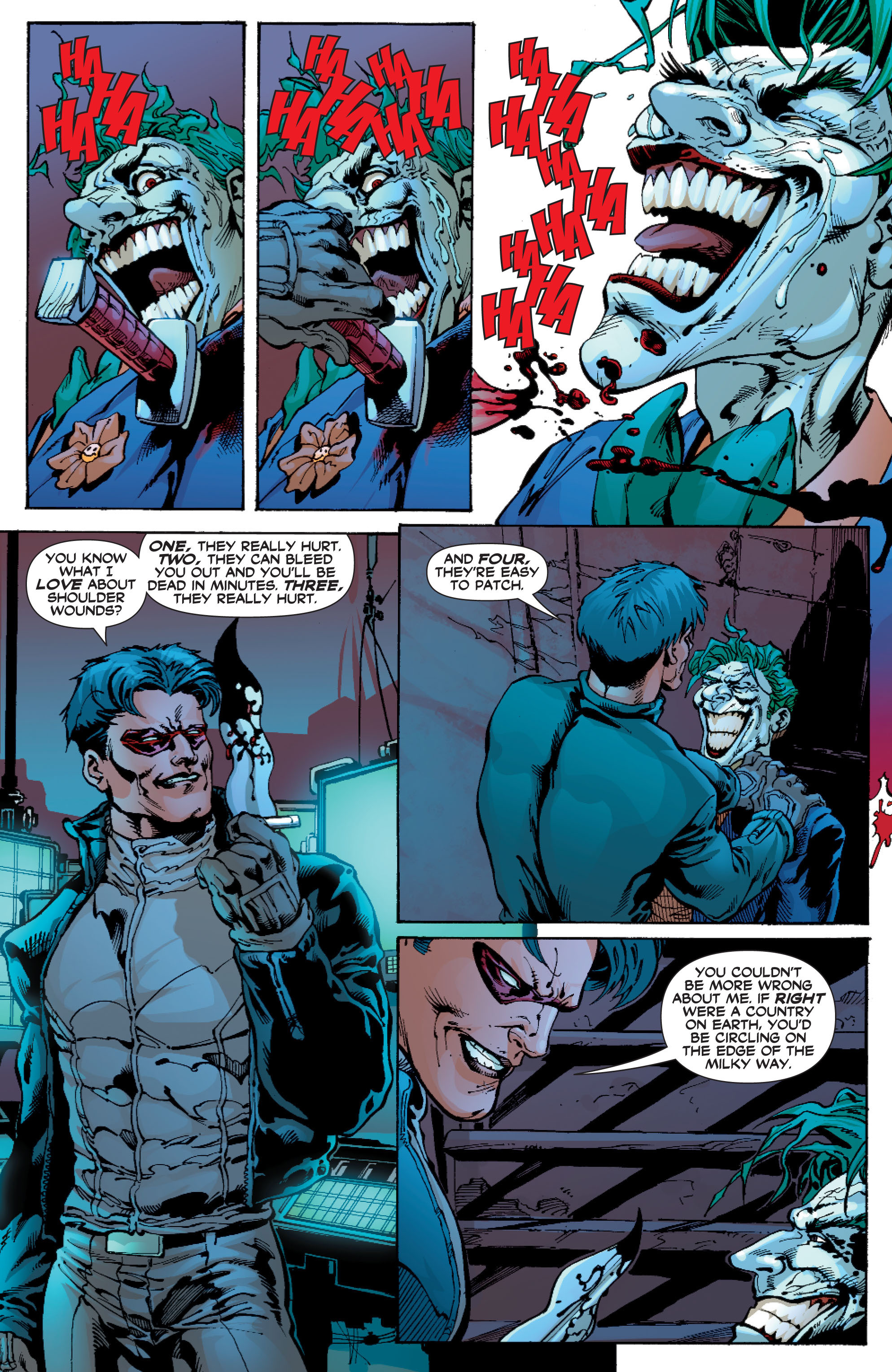 Read online Batman: Under The Red Hood comic -  Issue # Full - 282