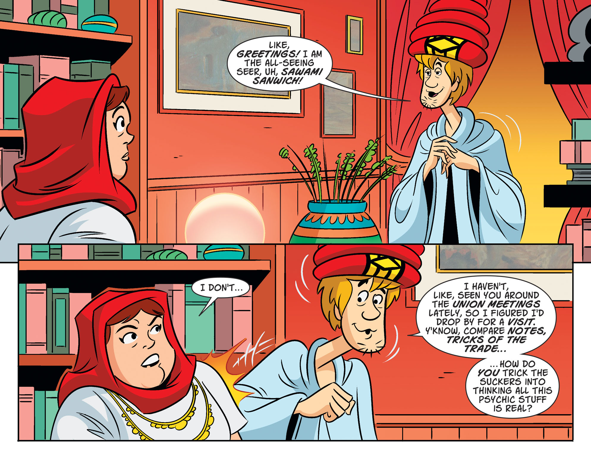 Read online Scooby-Doo! Team-Up comic -  Issue #53 - 20