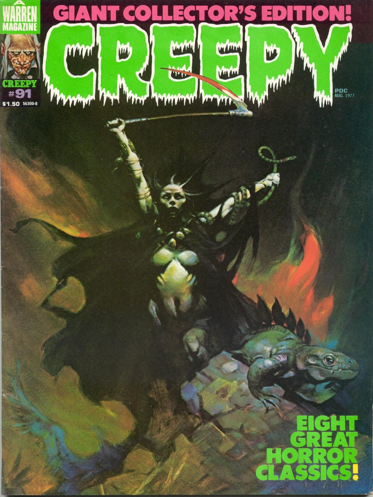 Creepy (1964) 91 Page 1