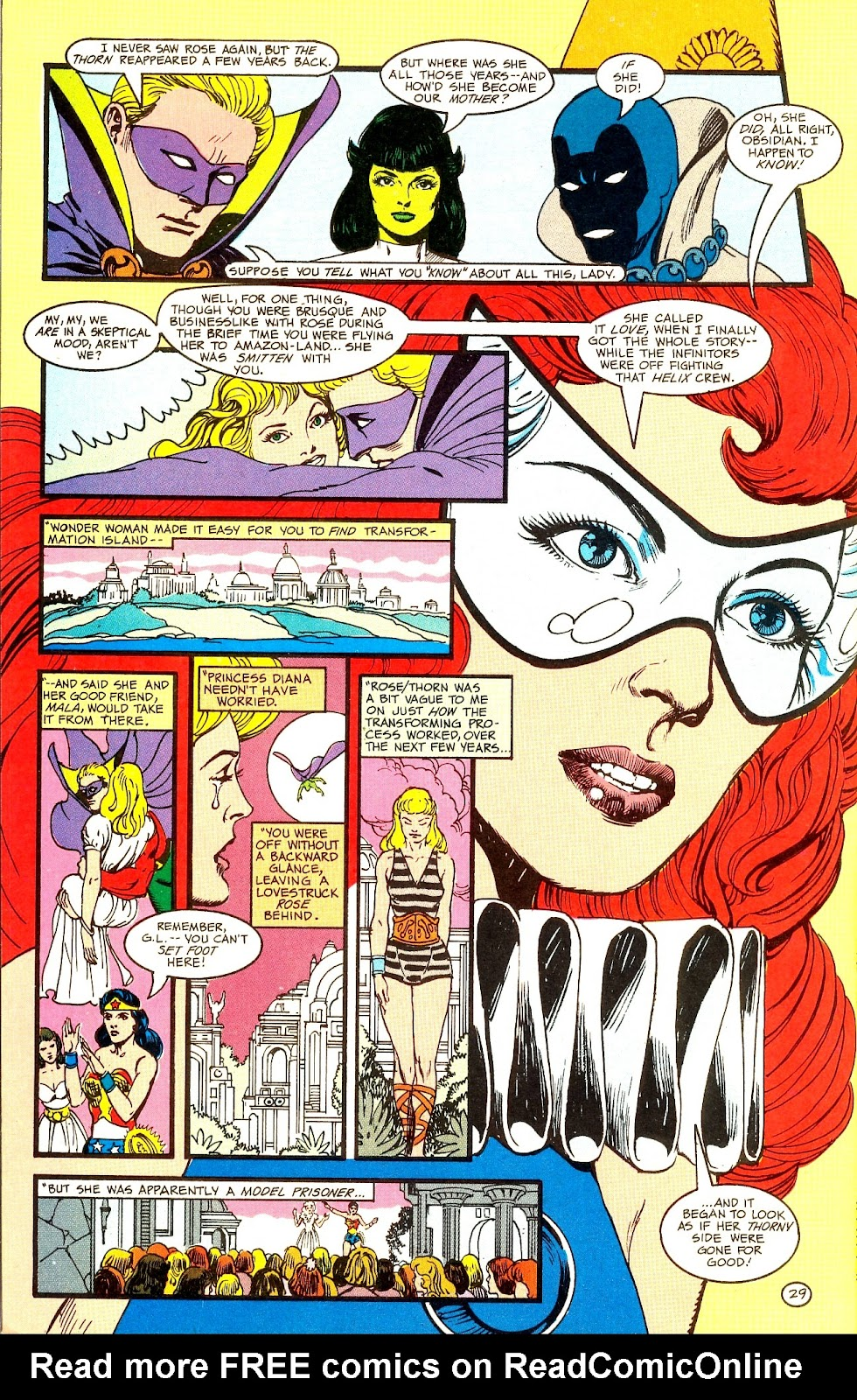 Infinity Inc. (1984) issue Annual 1 - Page 34