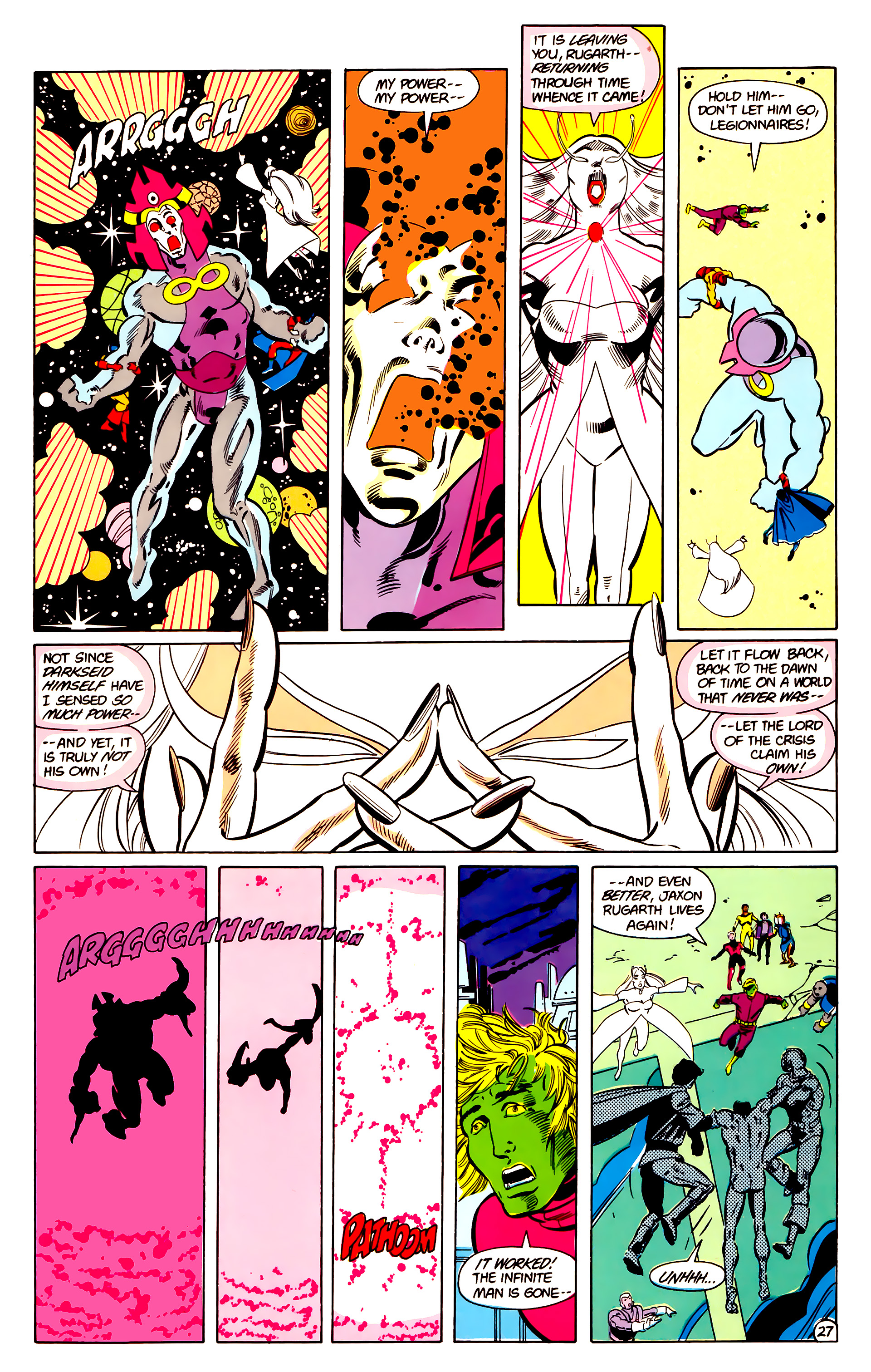 Legion of Super-Heroes (1984) 18 Page 27
