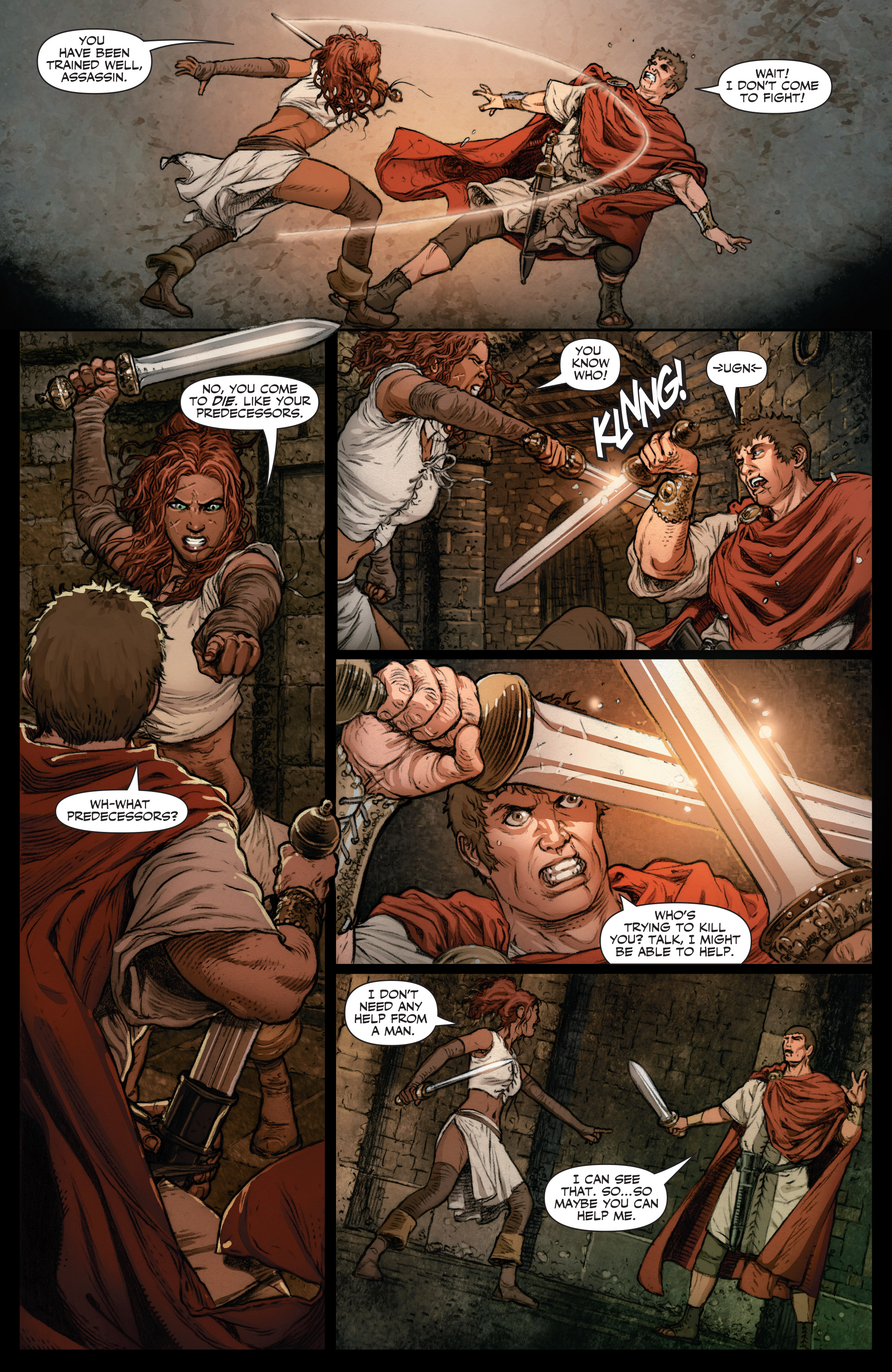 Read online Britannia: We Who Are About To Die comic -  Issue #2 - 7