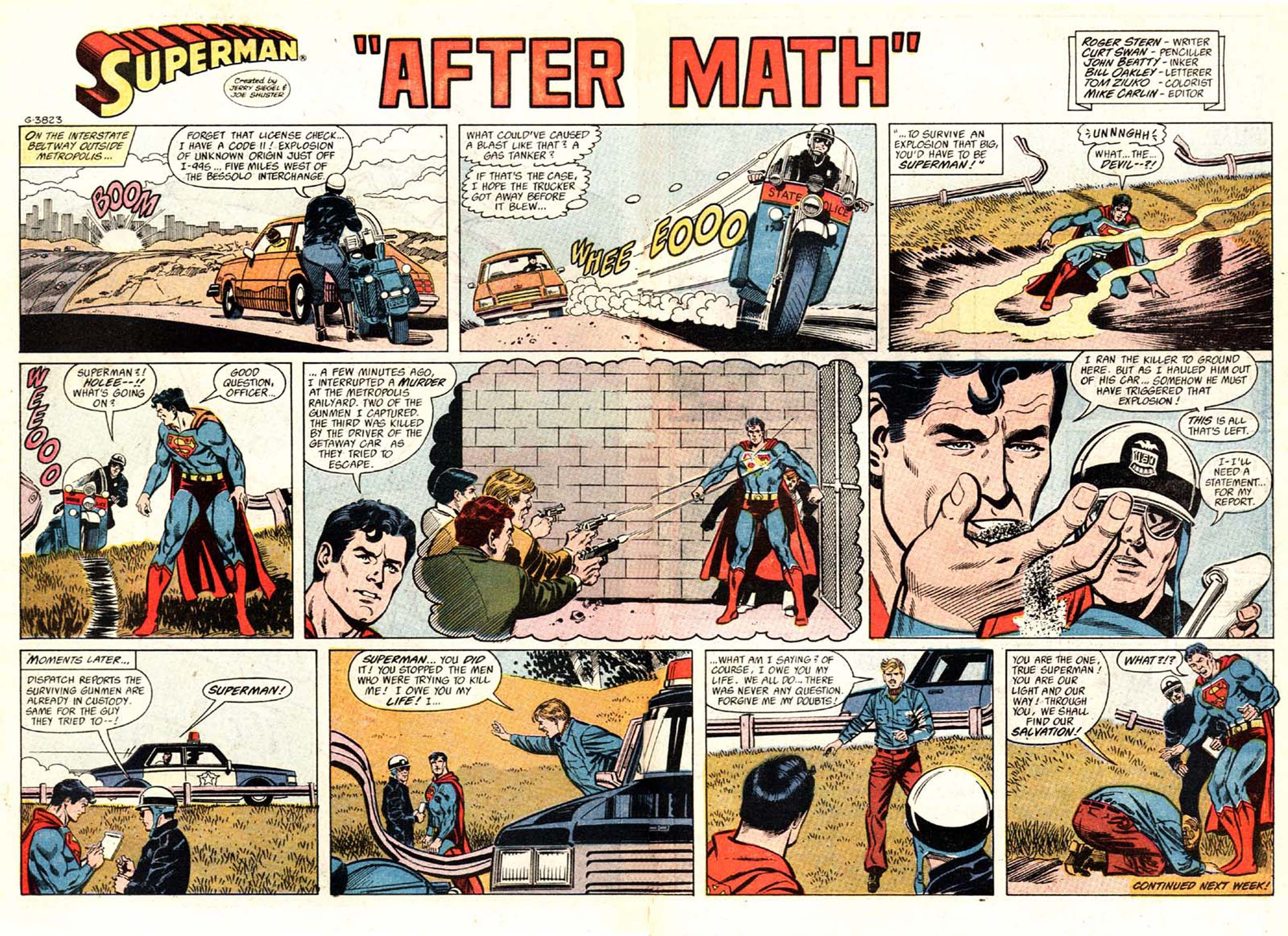 Read online Action Comics (1938) comic -  Issue #605 - 30