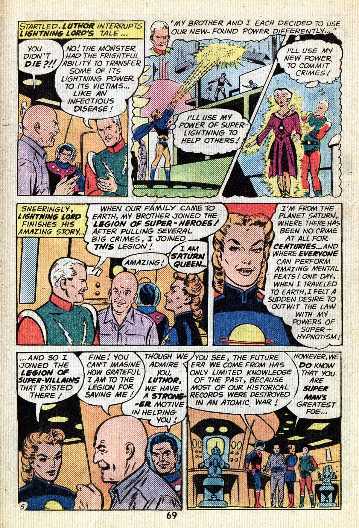 Read online Adventure Comics (1938) comic -  Issue #494 - 69