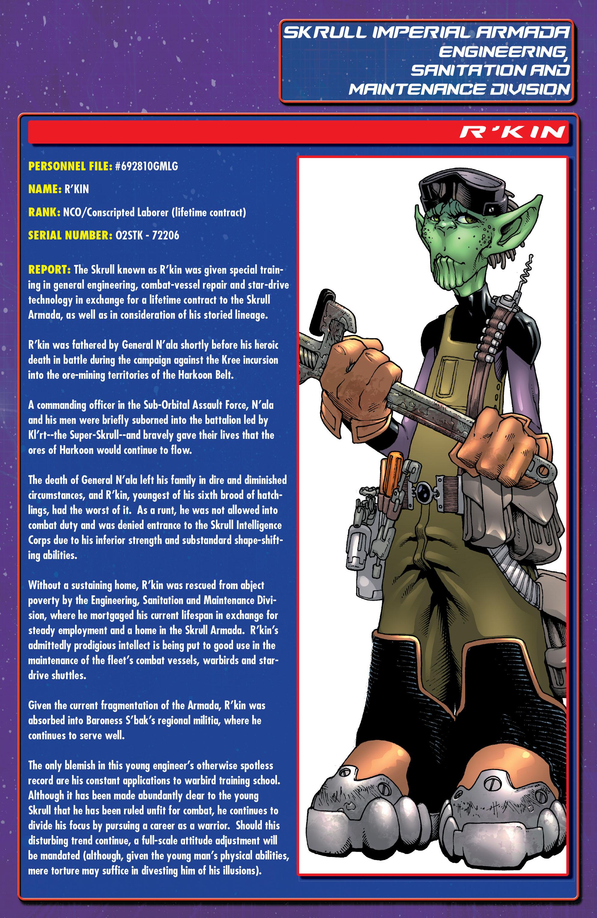 Read online Annihilation: Super-Skrull comic -  Issue #3 - 26
