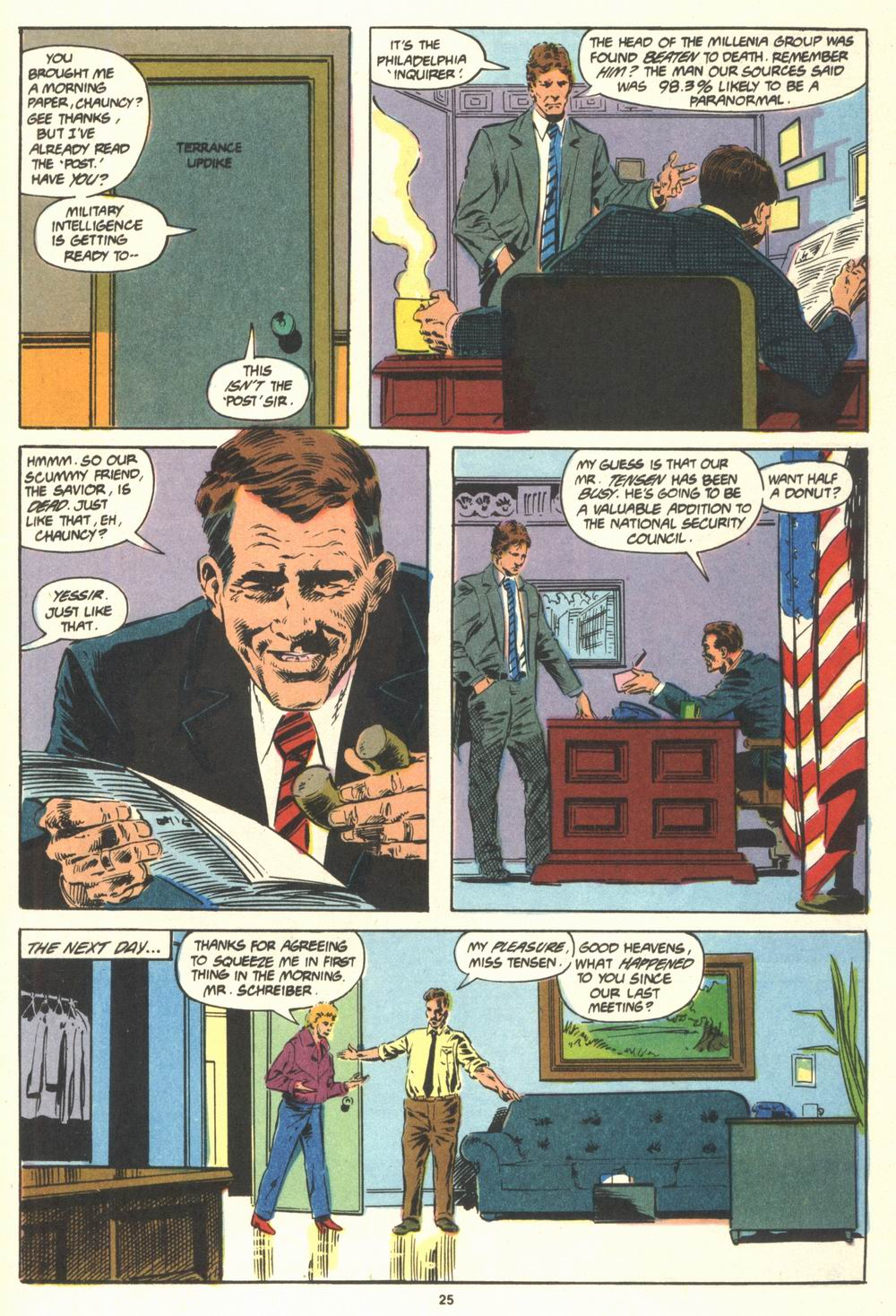 Read online Justice (1986) comic -  Issue #19 - 27