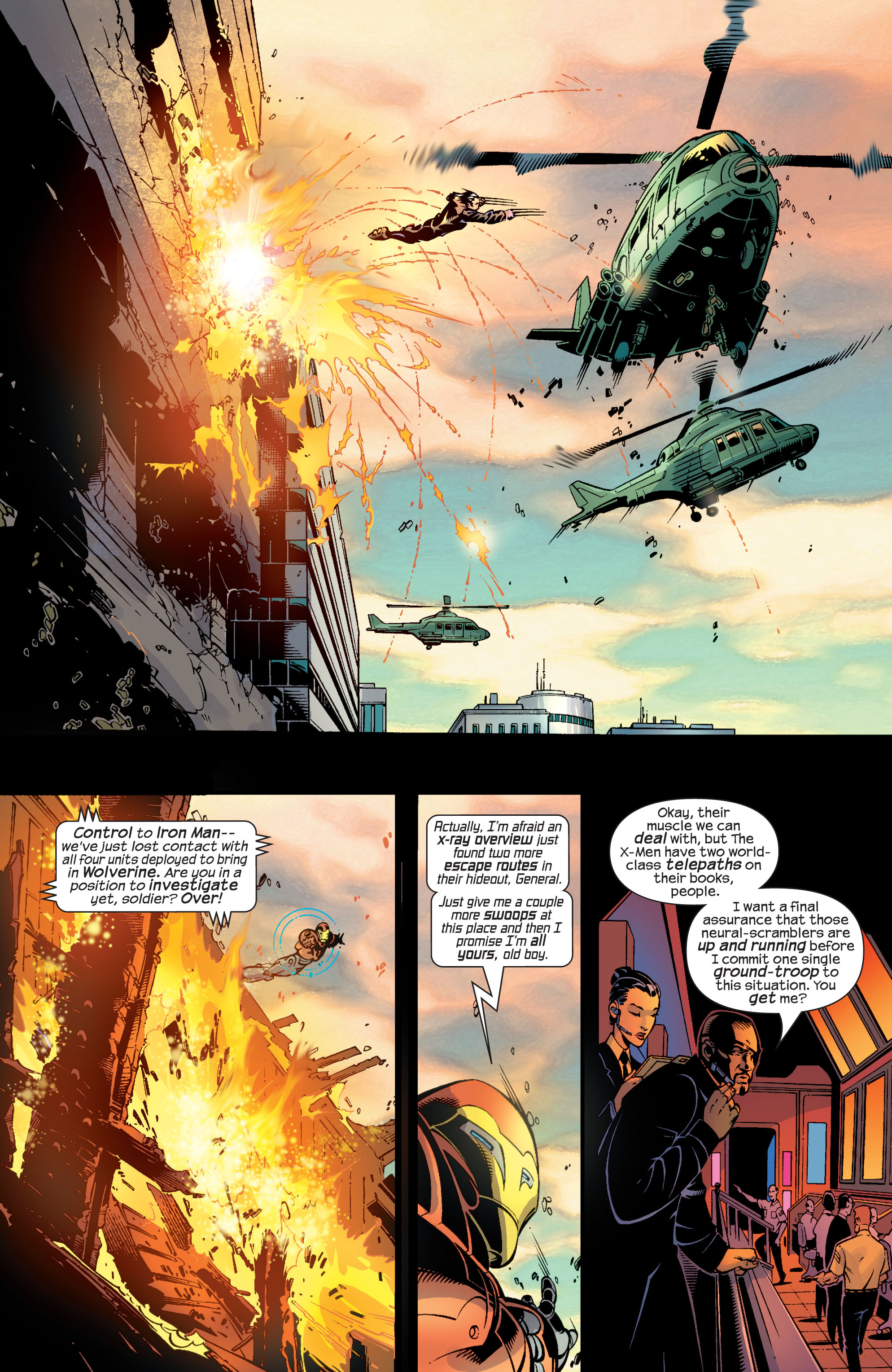 Read online Ultimate War comic -  Issue #4 - 7