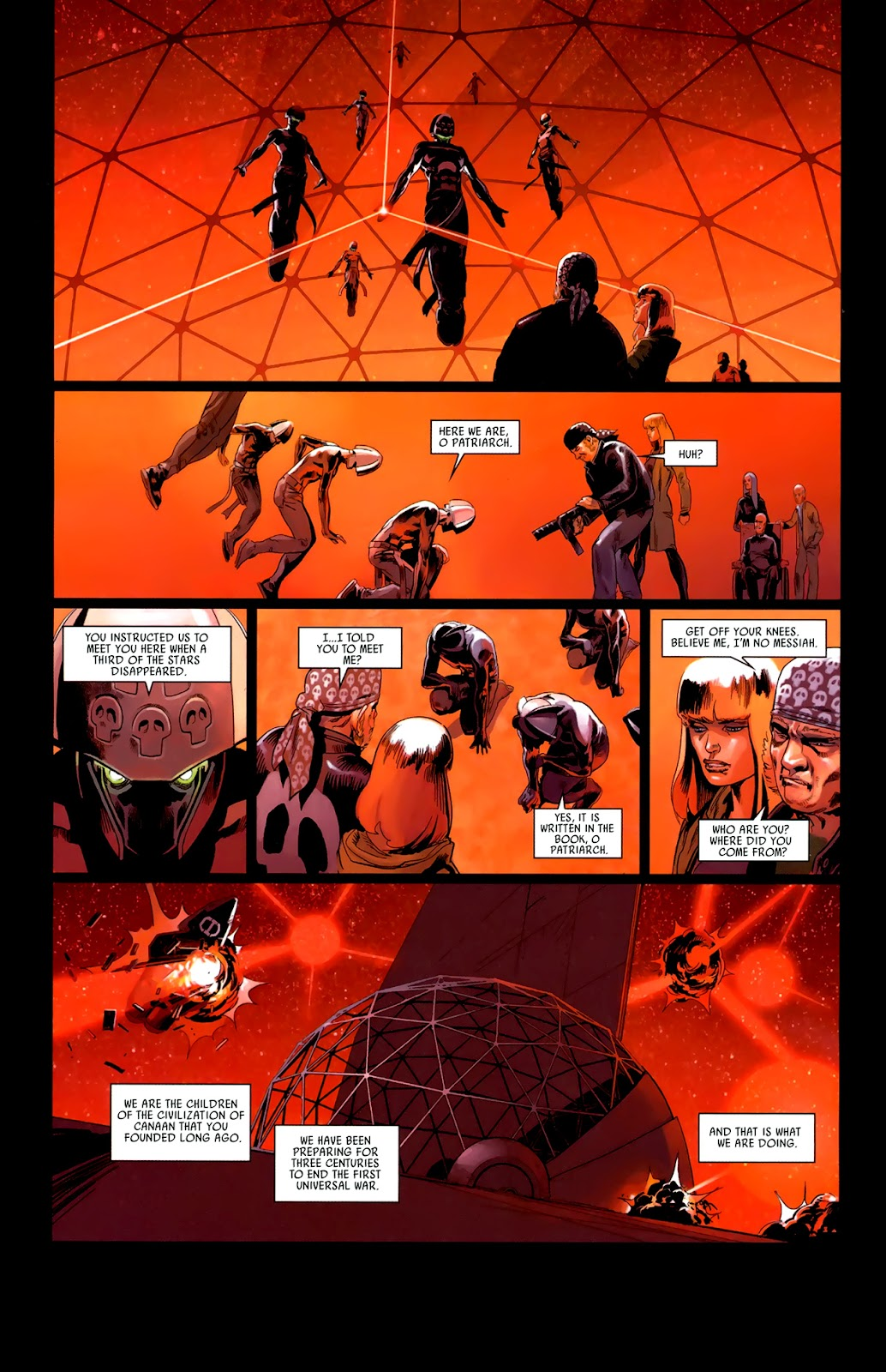 Read online Universal War One: Revelations comic -  Issue #3 - 46