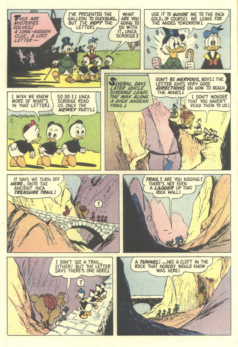 Read online Uncle Scrooge (1953) comic -  Issue #211 - 6