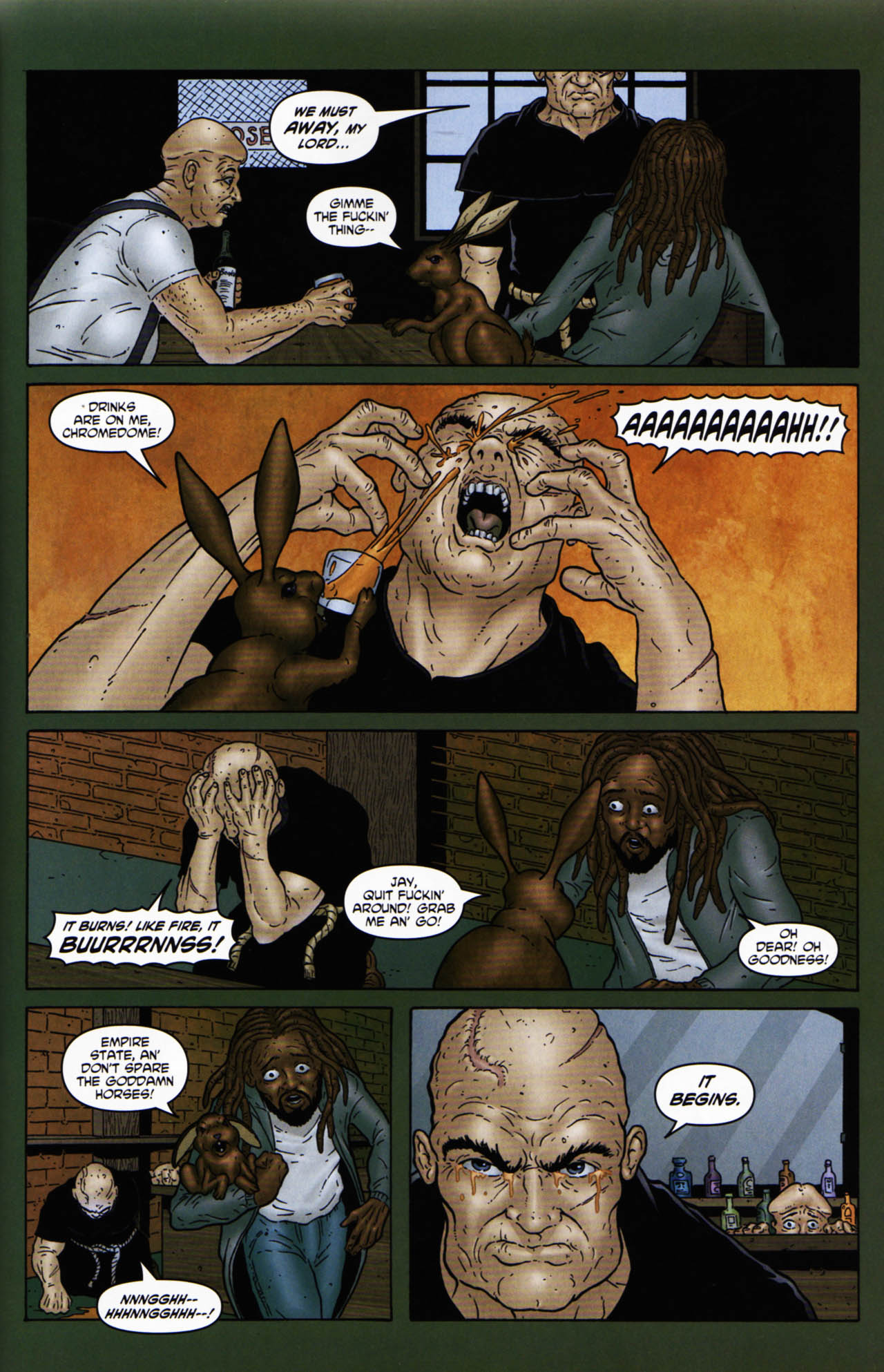 Read online Chronicles of Wormwood: The Last Enemy comic -  Issue # Full - 25