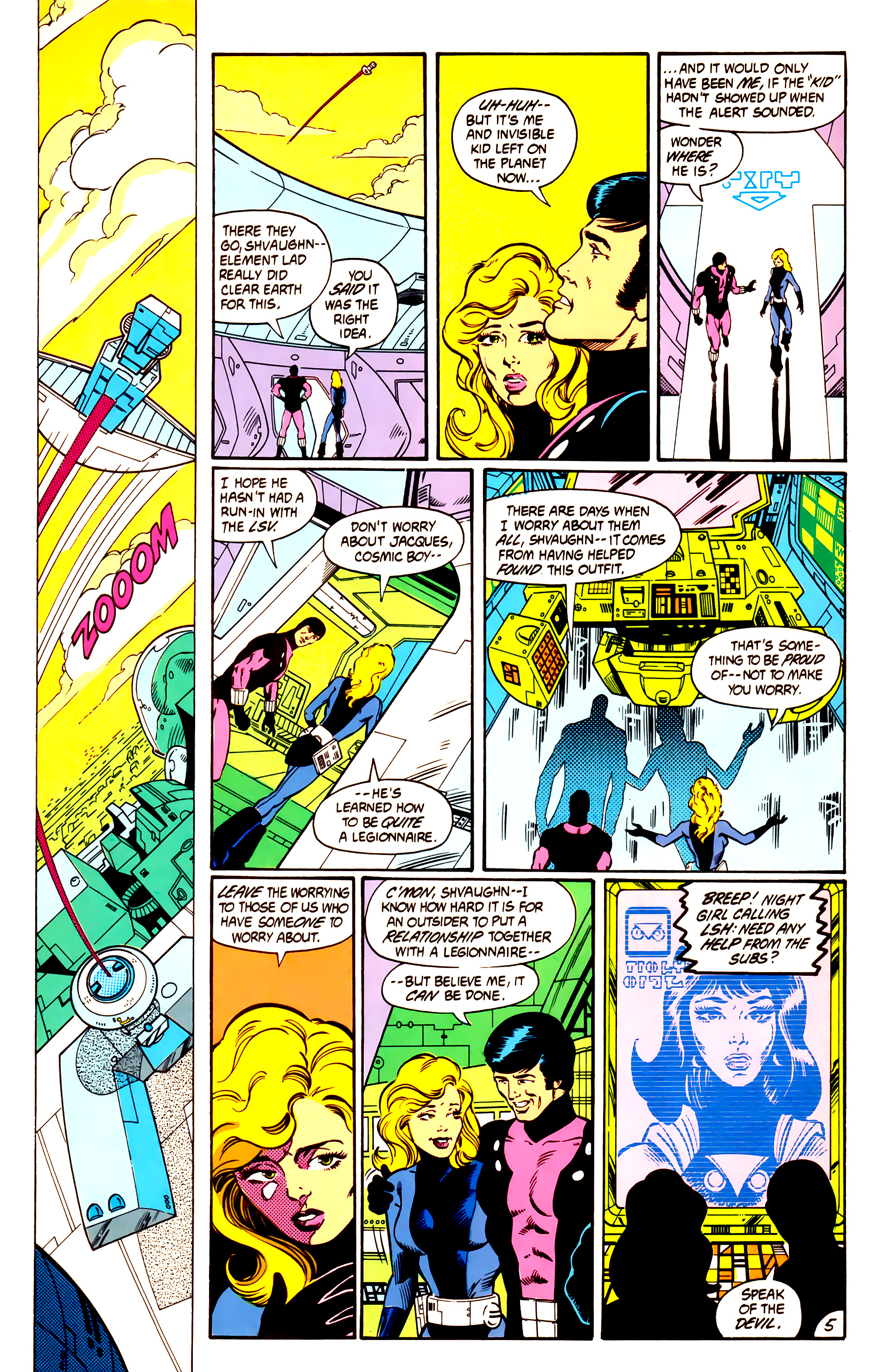 Legion of Super-Heroes (1984) 3 Page 6