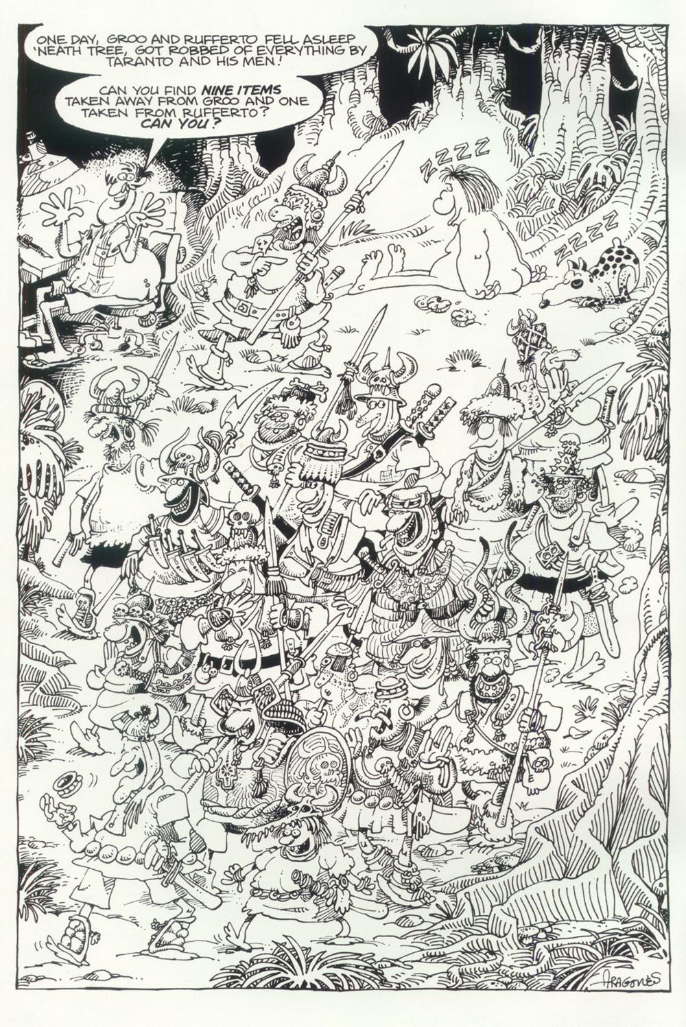Read online Sergio Aragonés Groo the Wanderer comic -  Issue #98 - 32