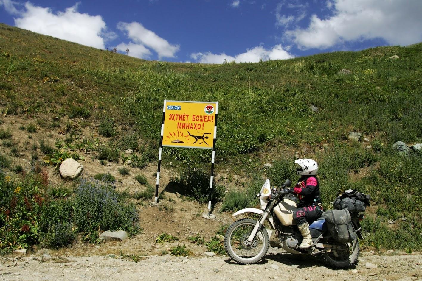 motocyklem do azji
