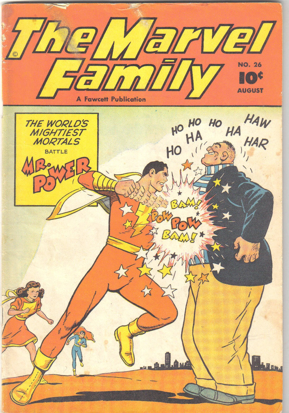 The Marvel Family issue 26 - Page 1