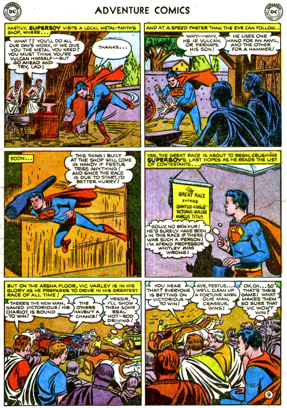 Read online Adventure Comics (1938) comic -  Issue #177 - 11